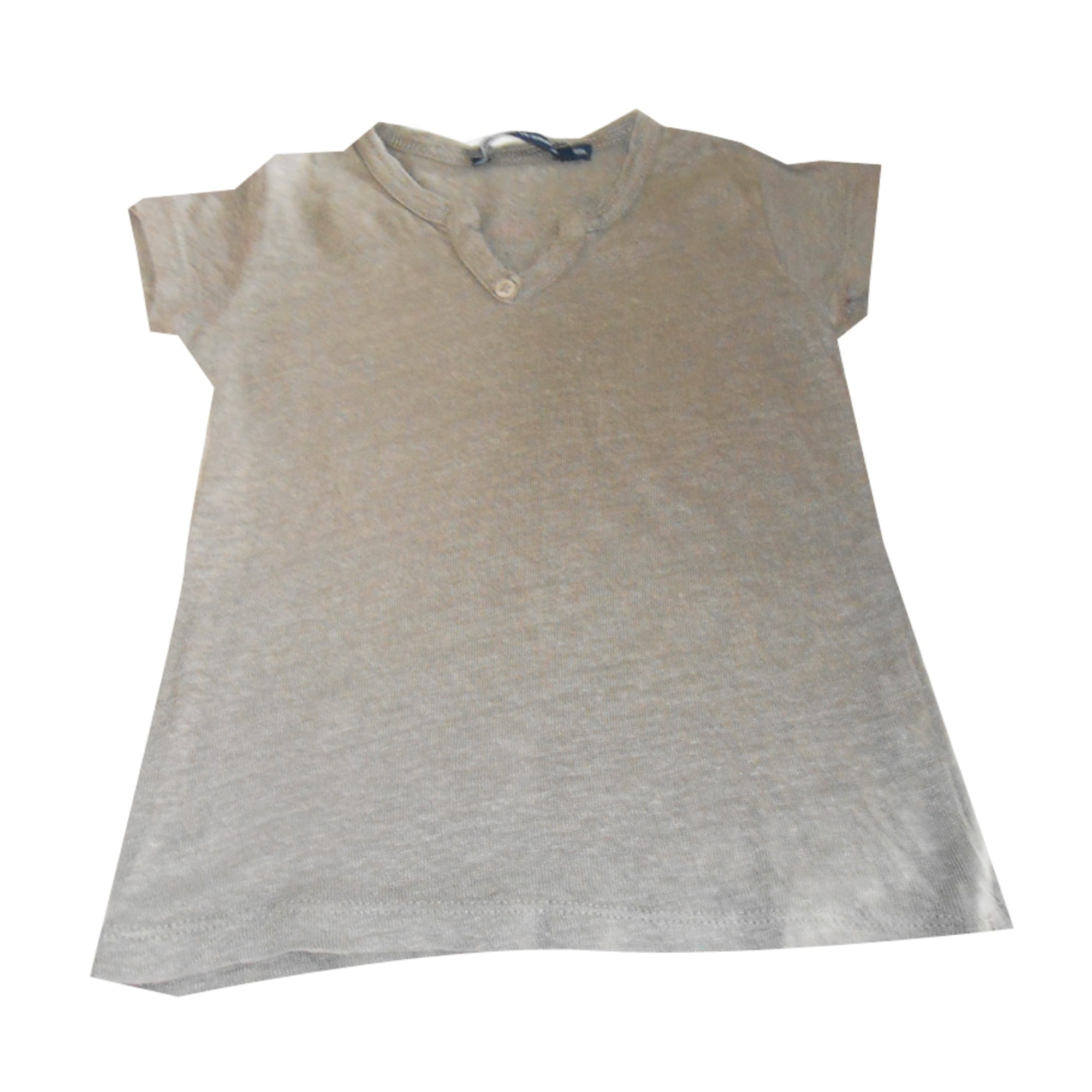 Top, tee shirt LE PHARE DE LA BALEINE Beige, camel