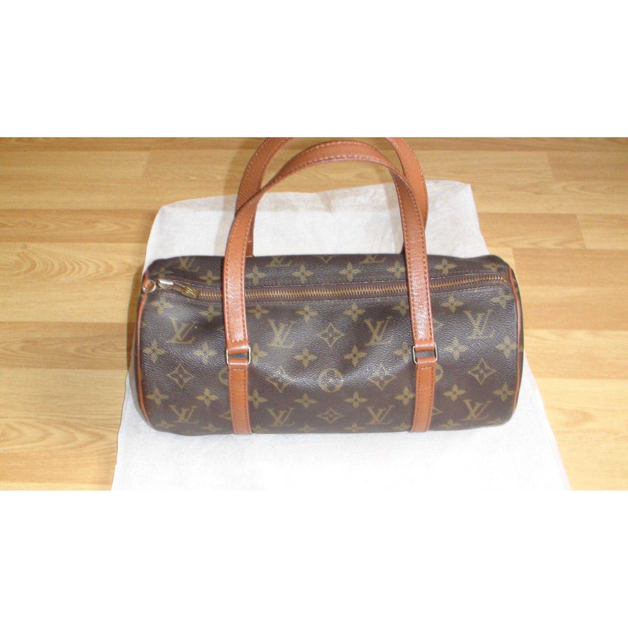 Sac à main en cuir LOUIS VUITTON marron vendu par Le vide dressing ... b6e282c6e02