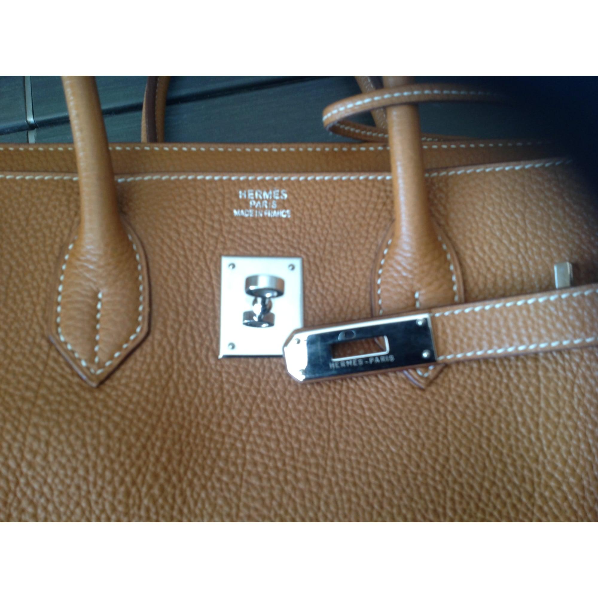 ddff323e94 Sac à main en cuir HERMÈS beige vendu par Shopname279350 ...