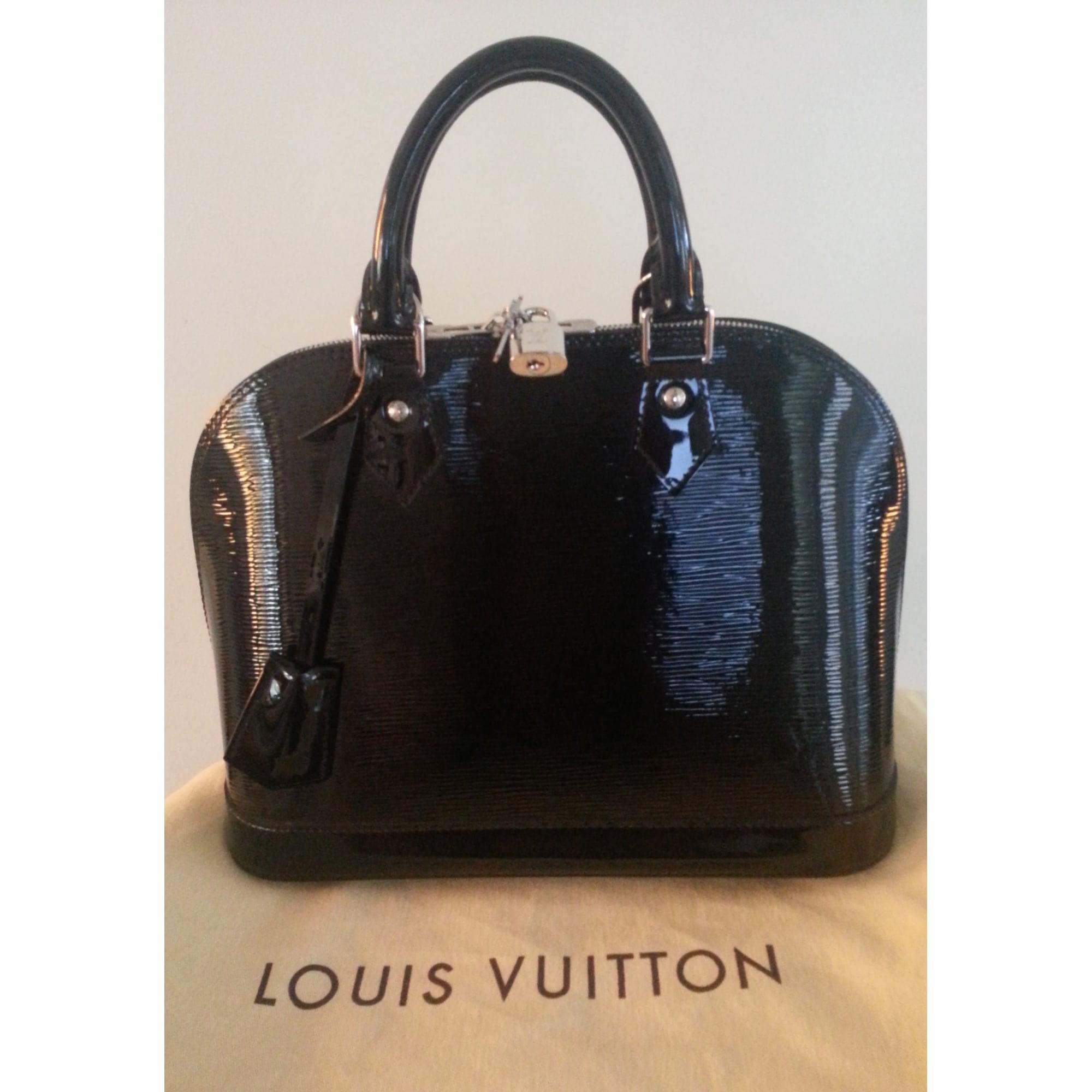 Sac à main en cuir LOUIS VUITTON noir - 1370506 c27f26d82db6
