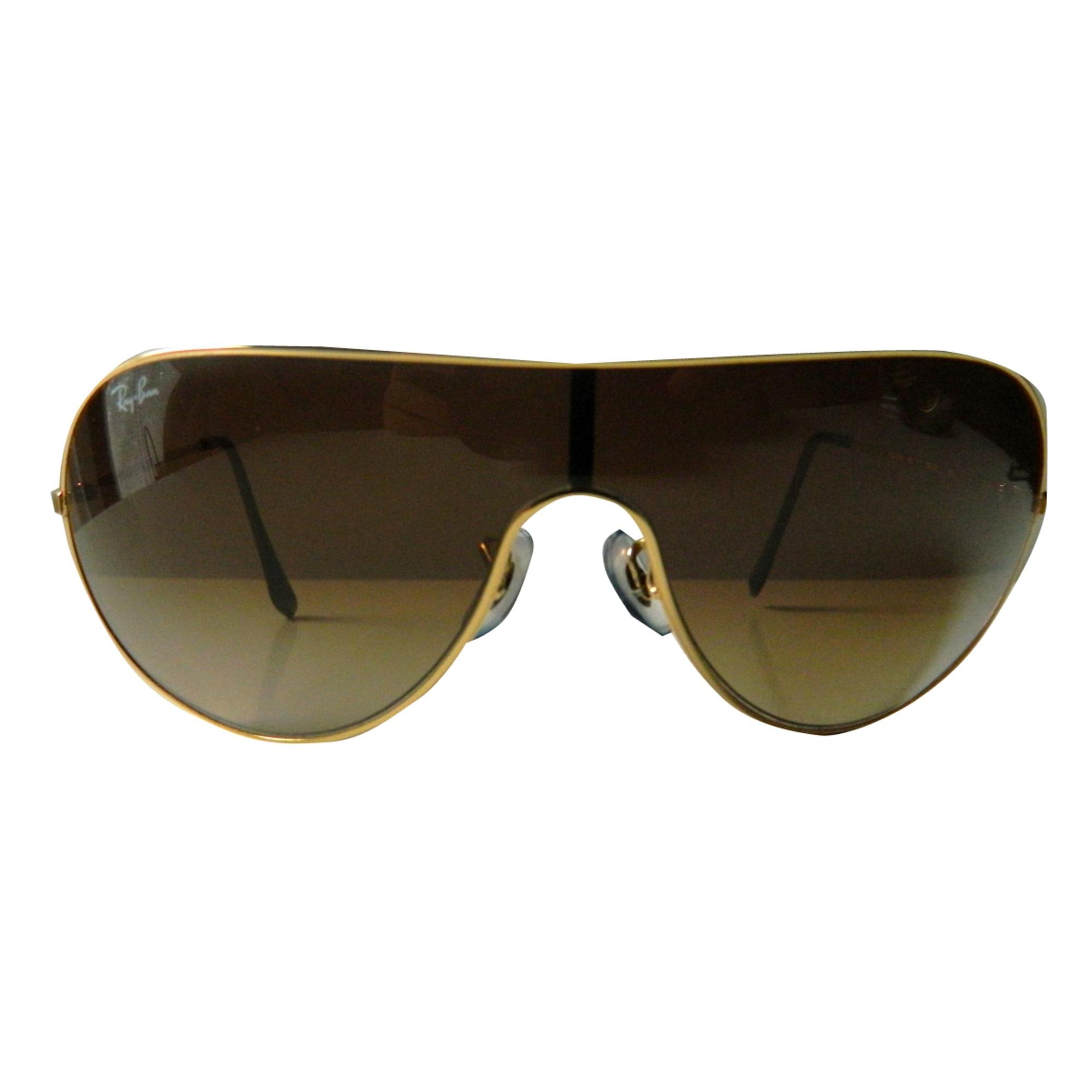 Lunettes de soleil RAY-BAN marron vendu par Le vide dressing de ... 9070d46ebc67