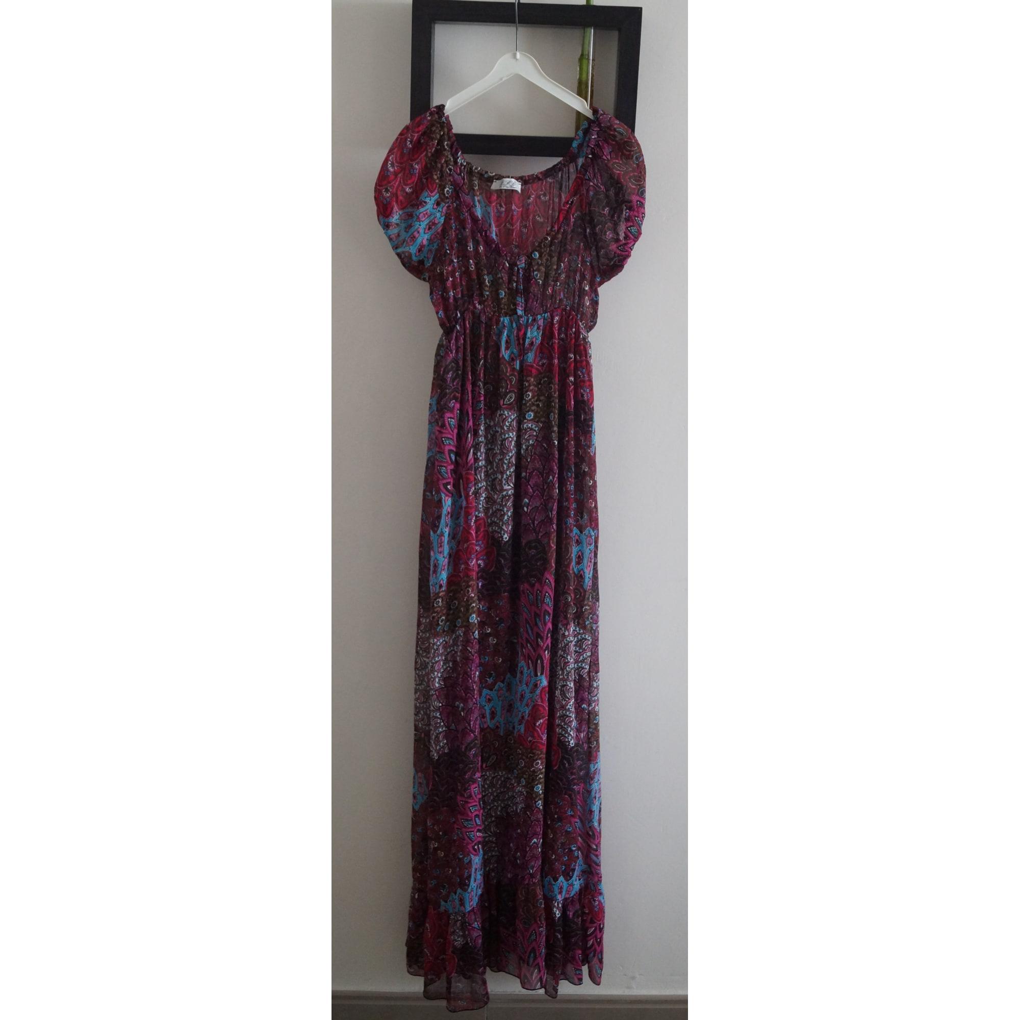 économiser prix plancher couleur attrayante Robe longue