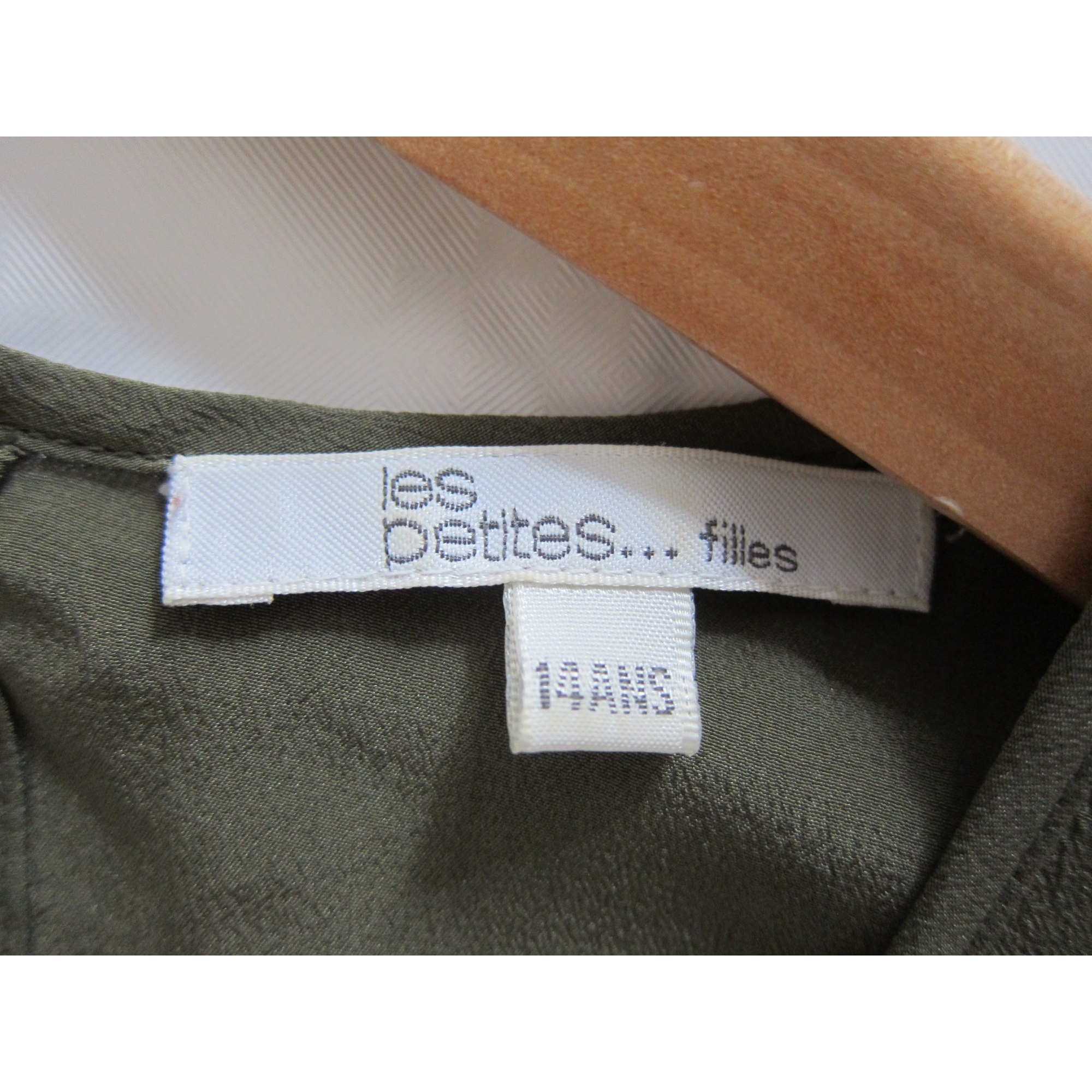 Robe LES PETITES... soie multicolore 13-14 ans