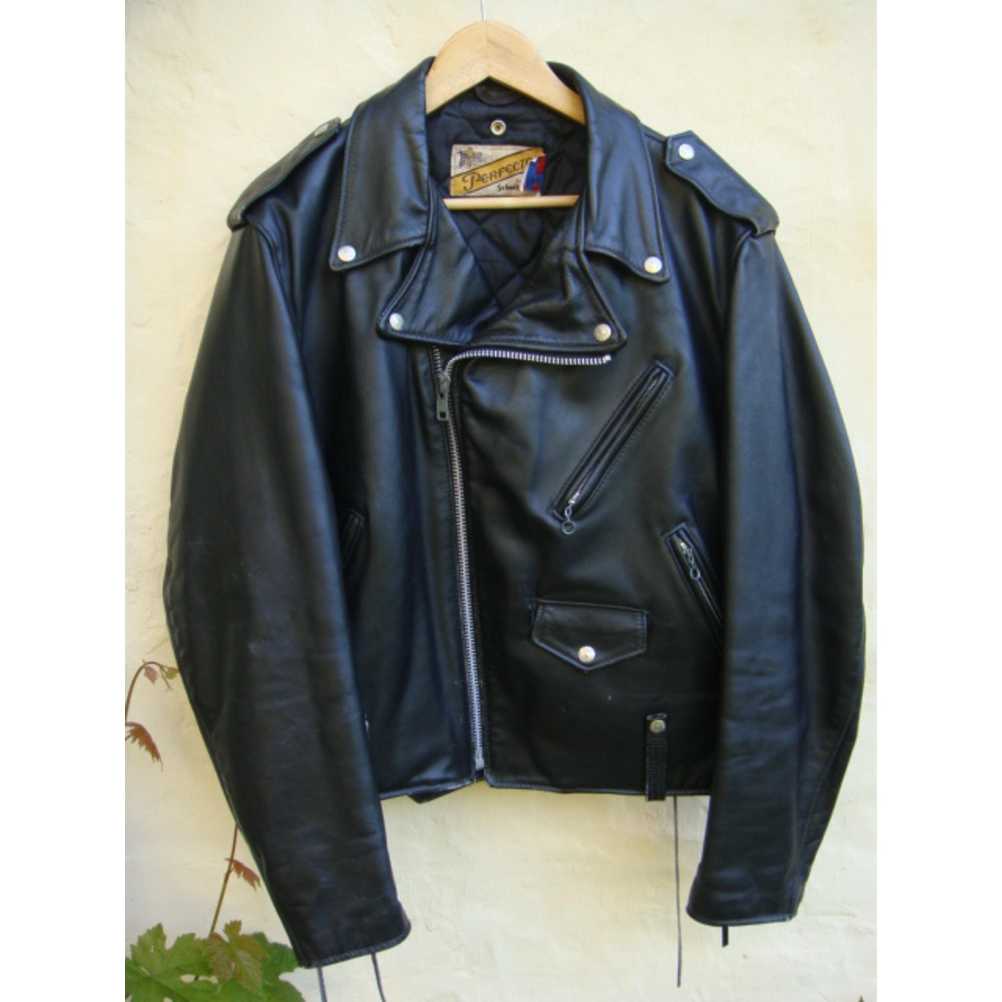 Blouson en cuir SCHOTT 54 (L) noir - 1443142 0cc38858a79
