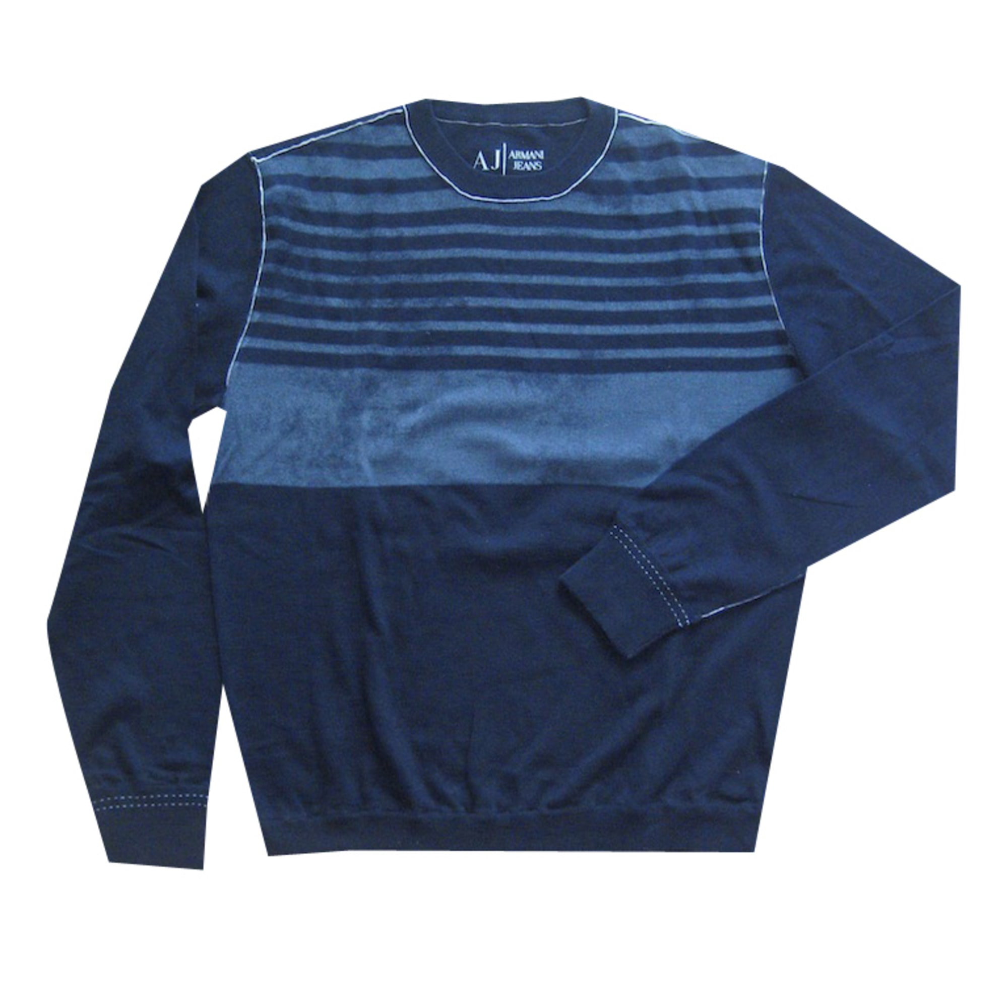 Pull ARMANI JEANS Bleu, bleu marine, bleu turquoise fdabd6da797