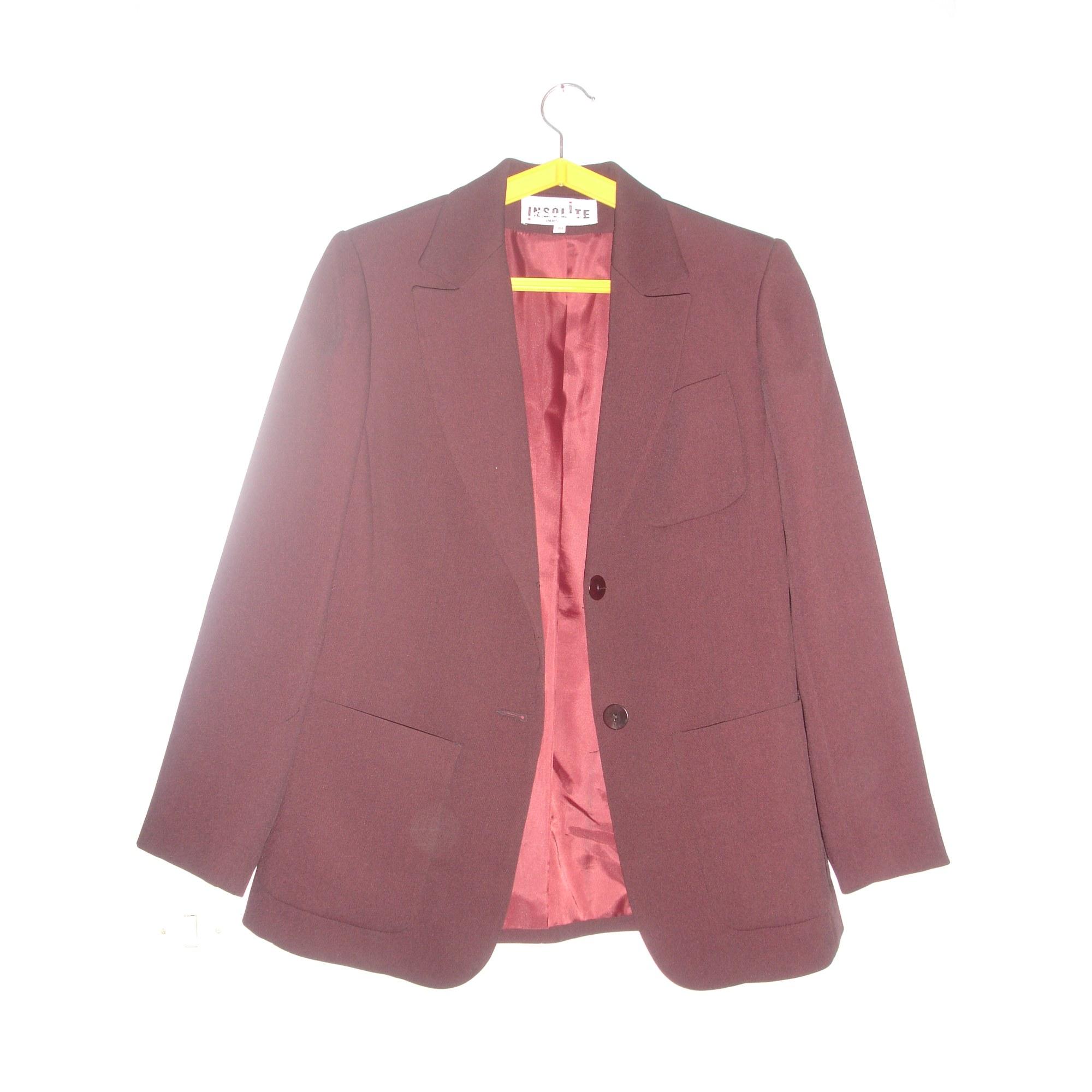 38 Blazer Julie Veste Par Insolite T2 Tailleur Vendu Rouge m 11tq6S