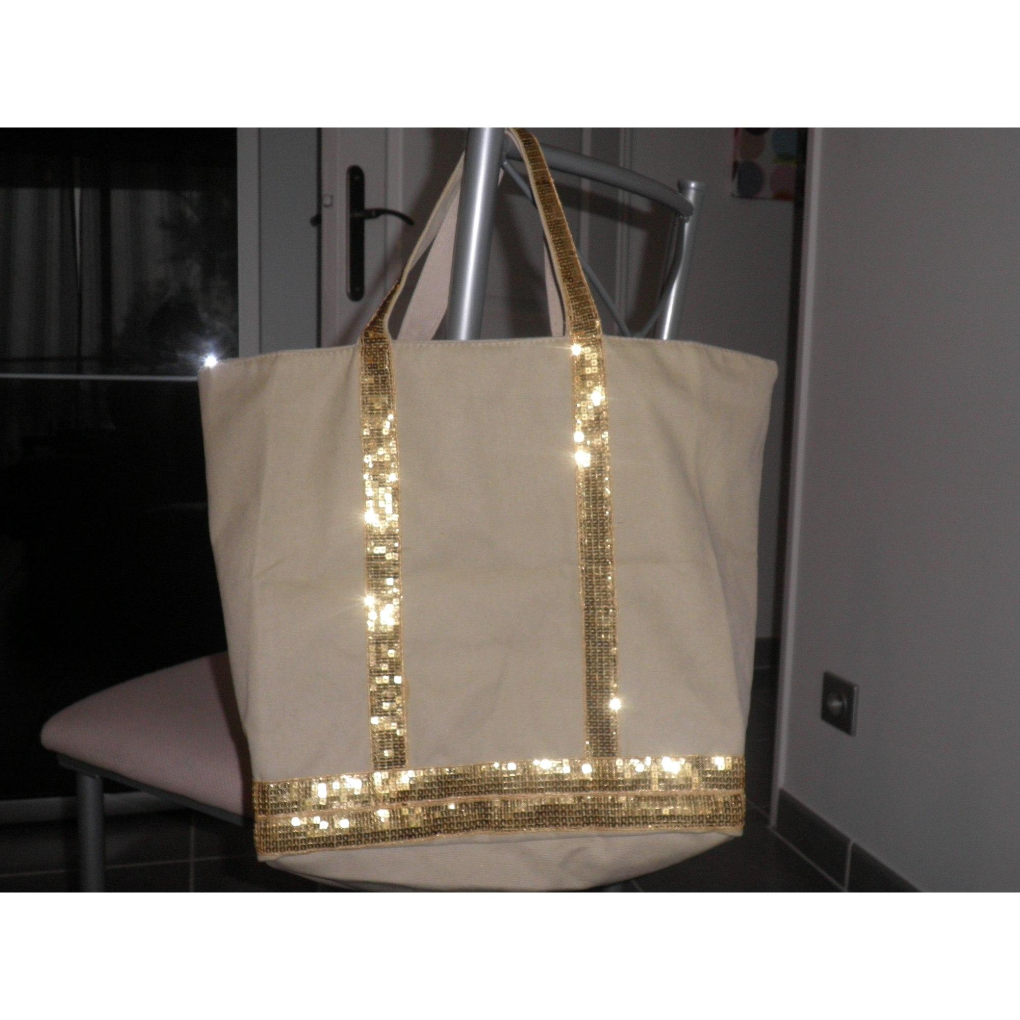 4f60787580 Sac à main en tissu VANESSA BRUNO beige vendu par Mélanie ...