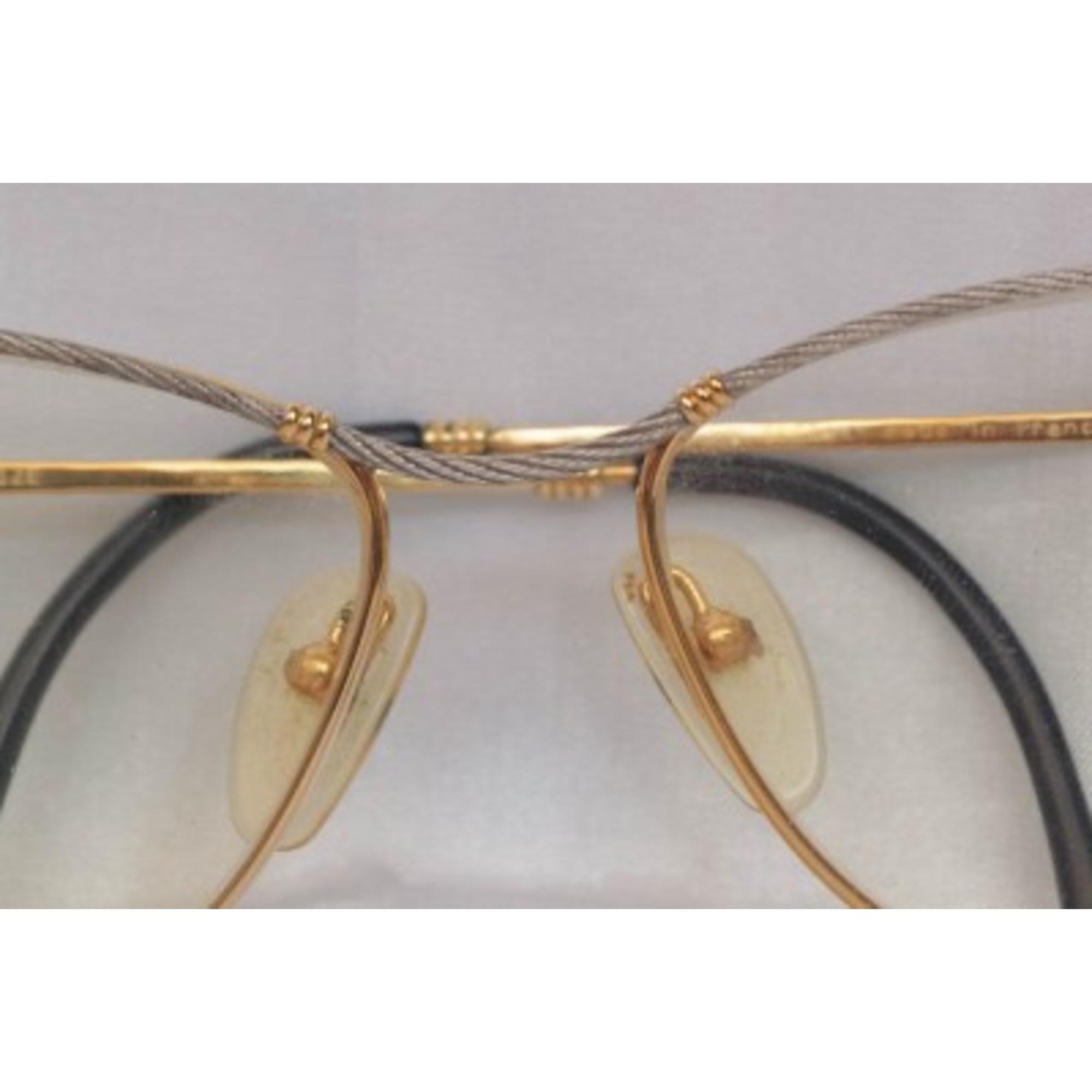 c037d5871de9b6 Monture de lunettes FRED Doré, bronze, cuivre