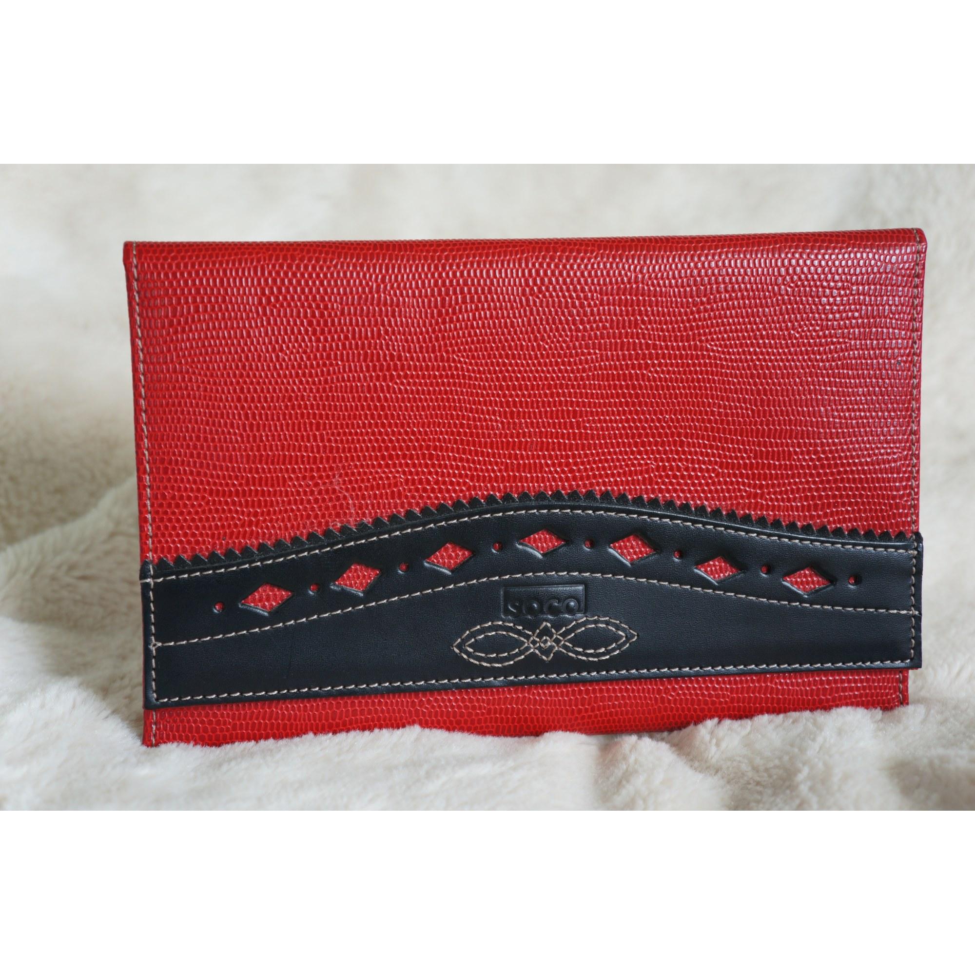 Porte-chéquier SOCO rouge vendu par Shopname430934 - 1501906 2ade07c7439