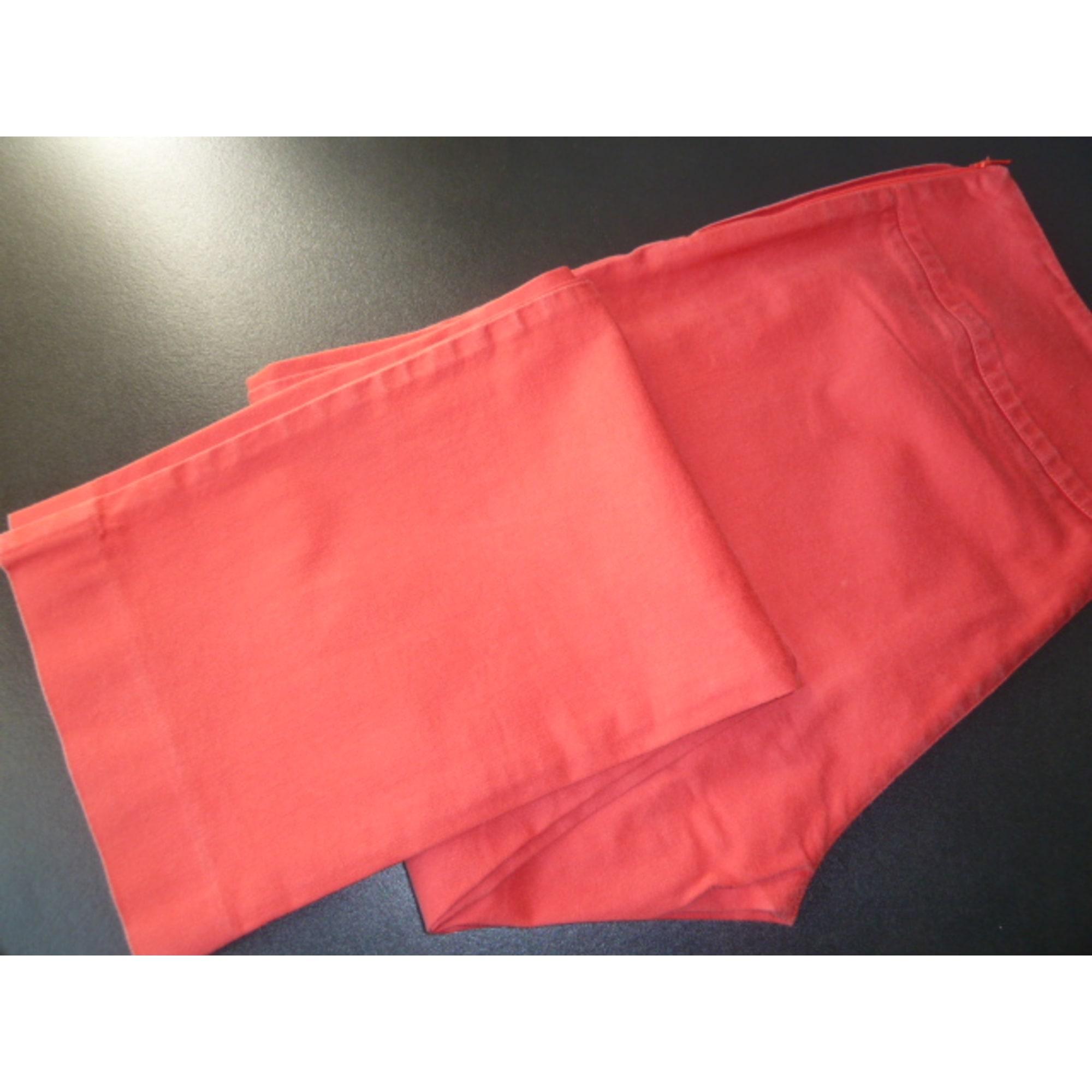 lxl Lacoste Droit Pantalon 1521170 Rouge 42 T4 x0tgnzwqp
