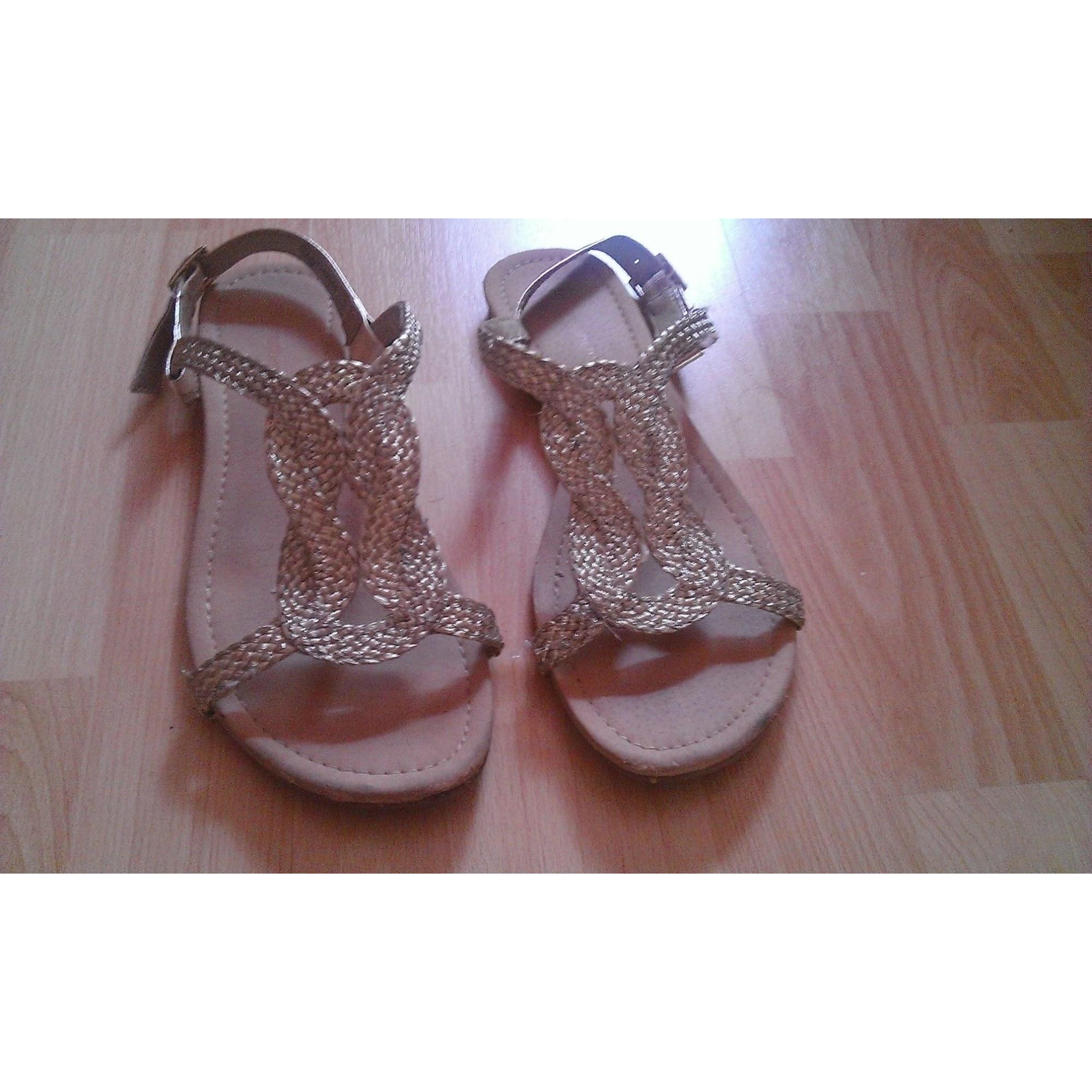 d718ca8ec87b5e Flat Sandals PRIMARK 39 golden - 1523465