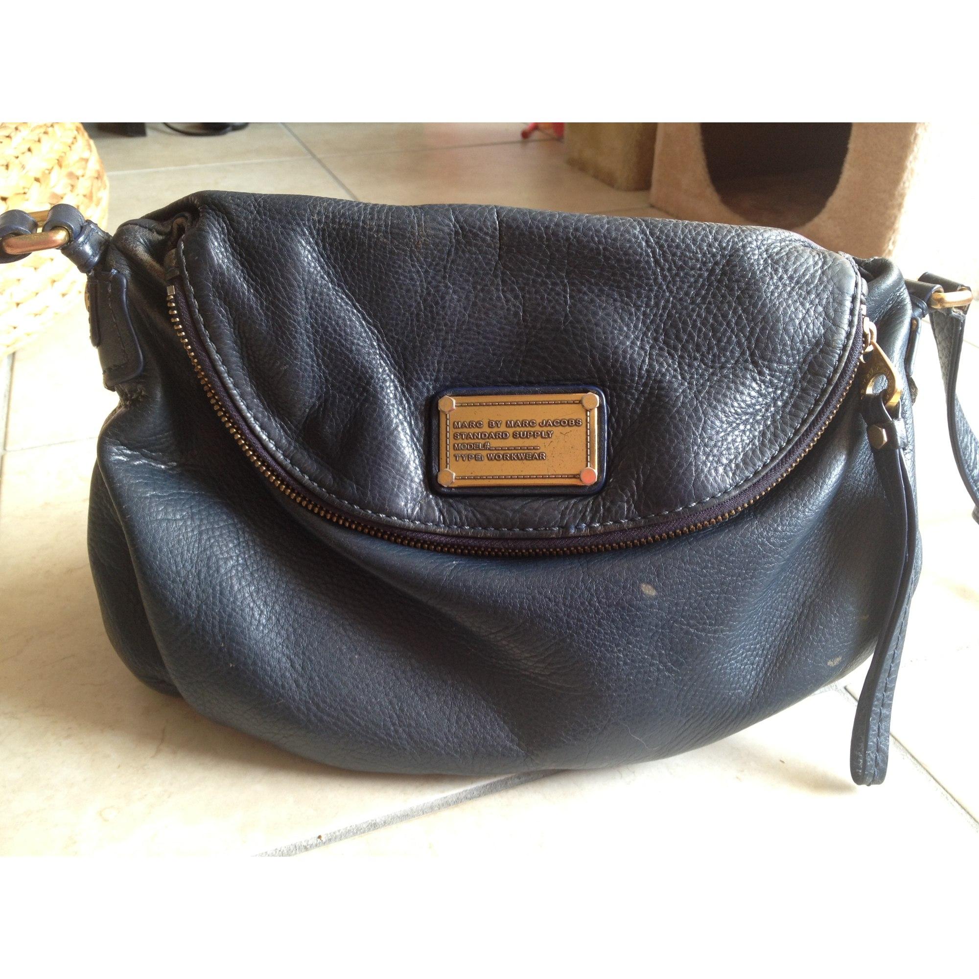 531497b574e42 Sac en bandoulière en cuir MARC JACOBS bleu vendu par D aurora145106 ...