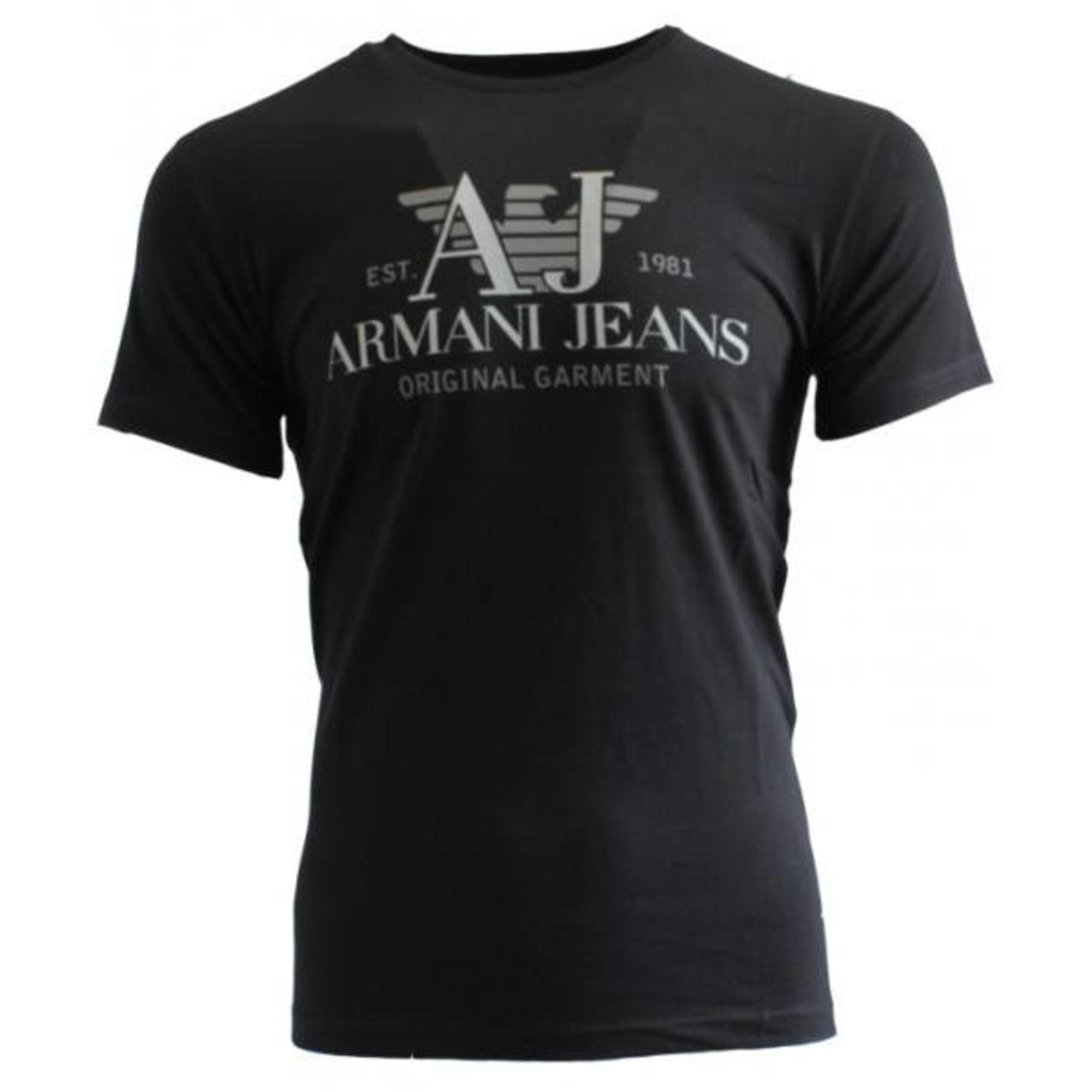 62323cac509a T-shirt ARMANI JEANS 4 (XL) black vendu par Katell s boutique - 1534734