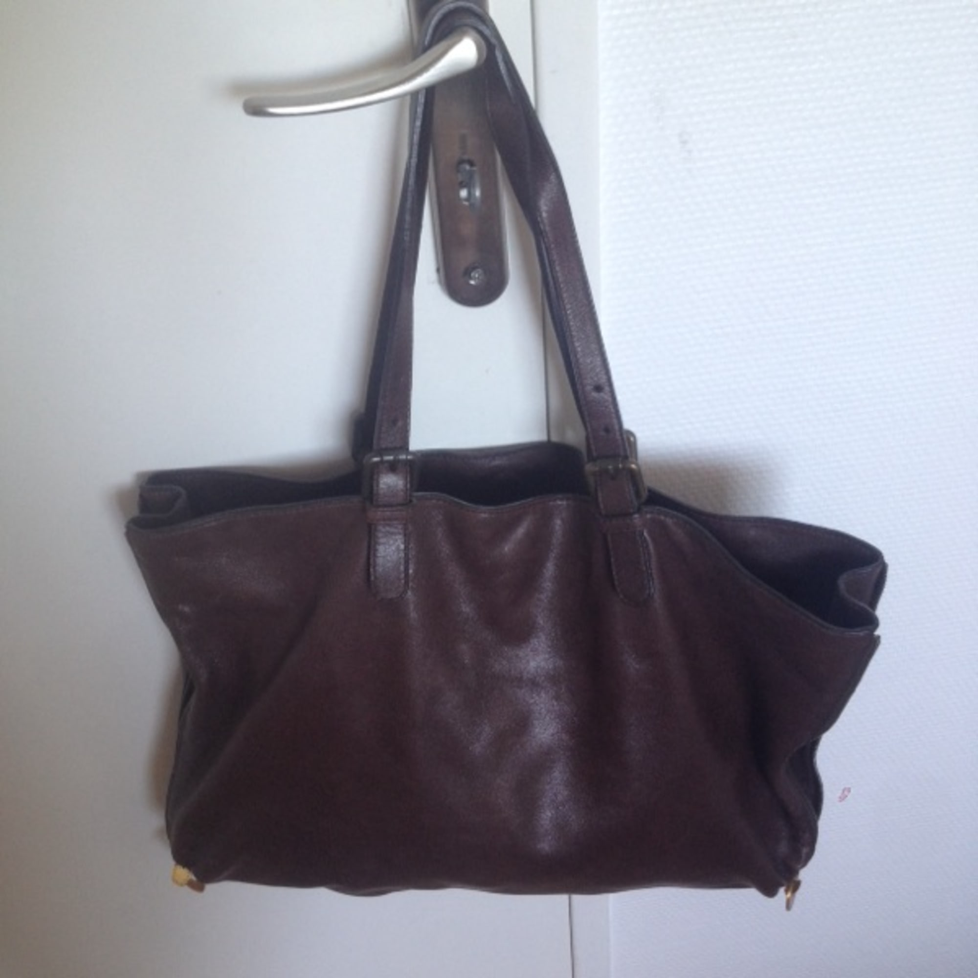 05a7f2830d35d Sac à main en cuir GERARD DAREL marron vendu par Clelia k - 1540518