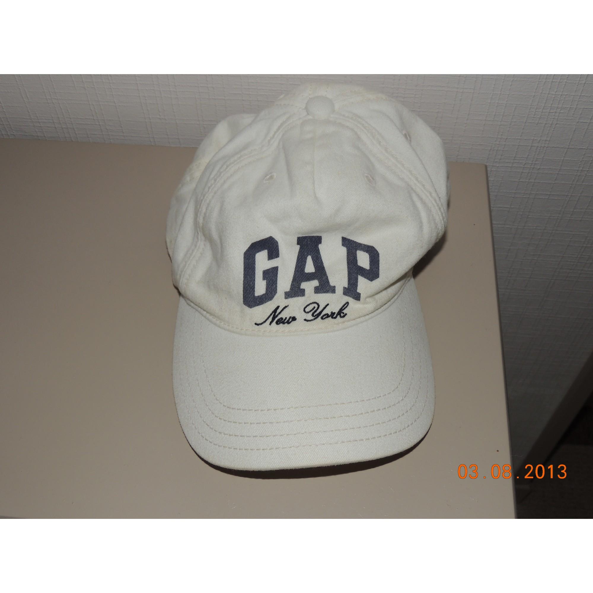 184c7bd776a Cap GAP One white - 1564048