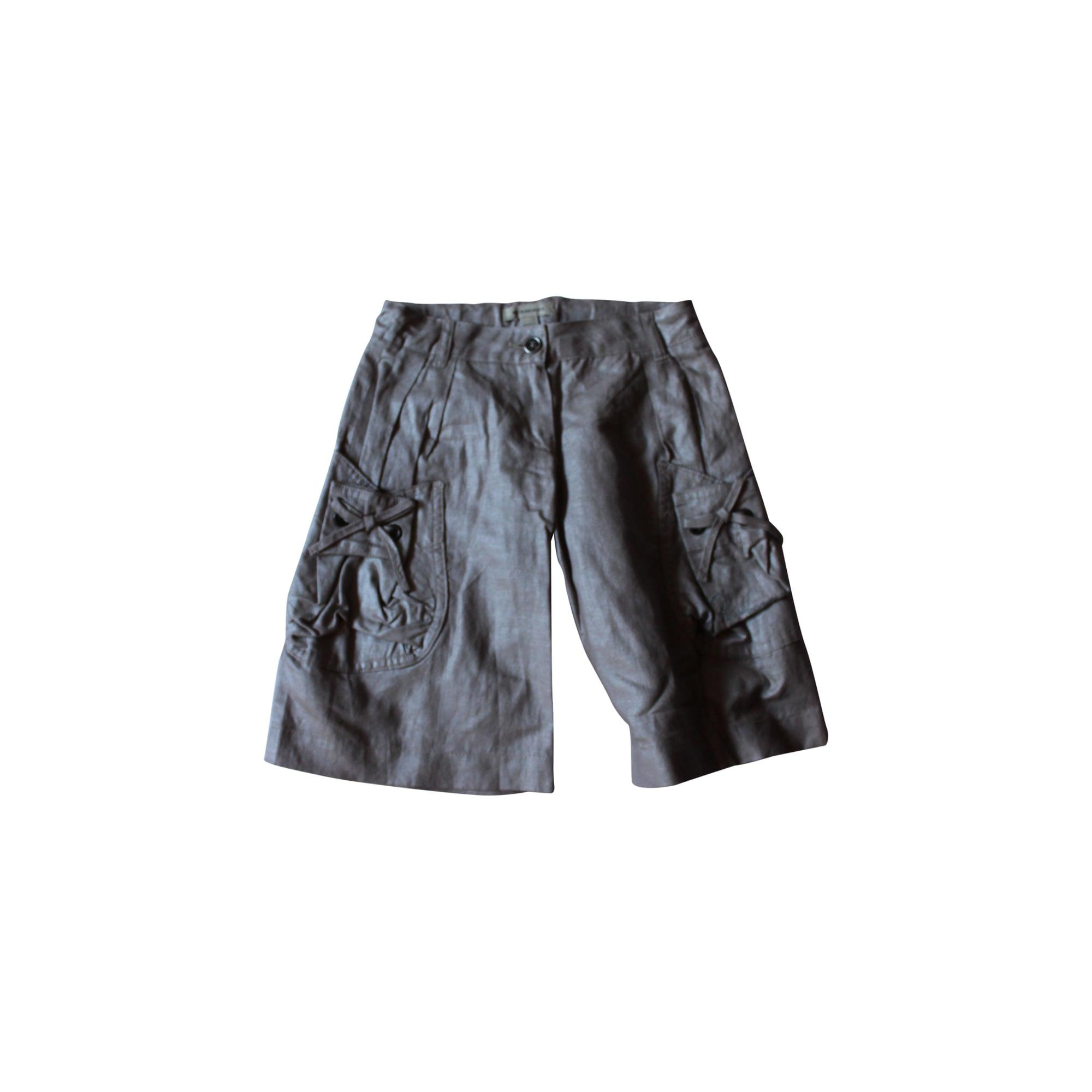Bermuda Shorts BURBERRY Silver