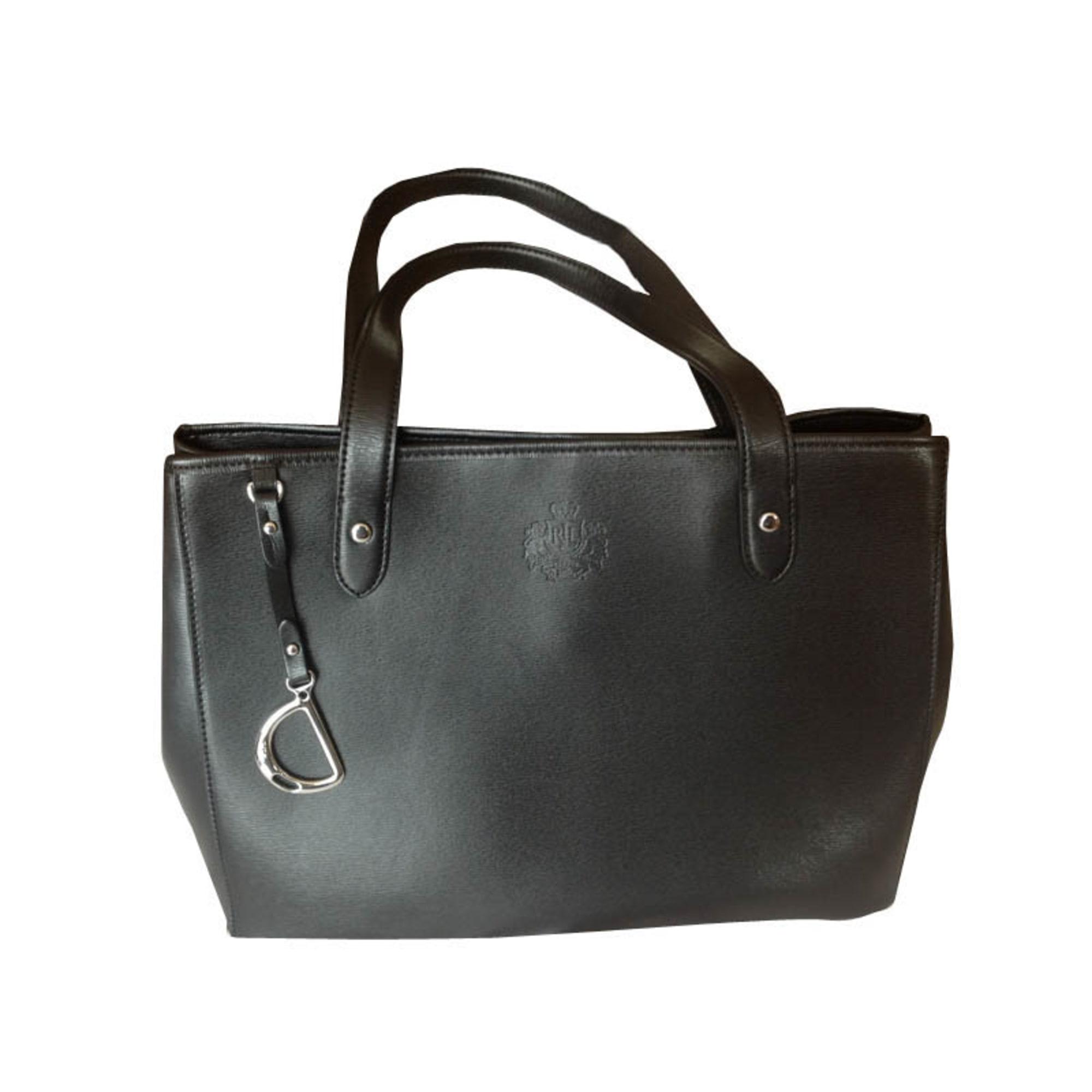 c081aa8167 Sac à main en cuir RALPH LAUREN noir vendu par Shopname478608 - 1579349