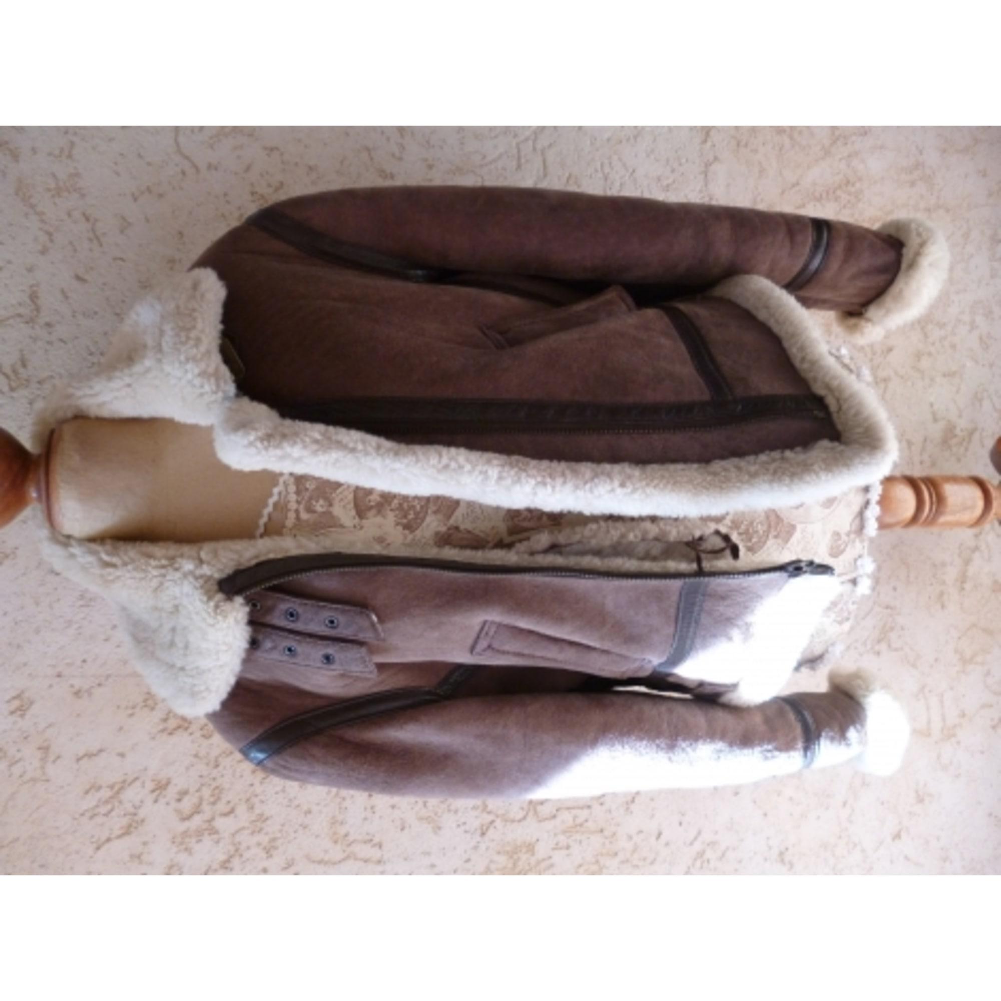 74f82ffe39023a Blouson en cuir ITINÉRANCE CUIR 40 (L, T3) marron vendu par D elodie ...