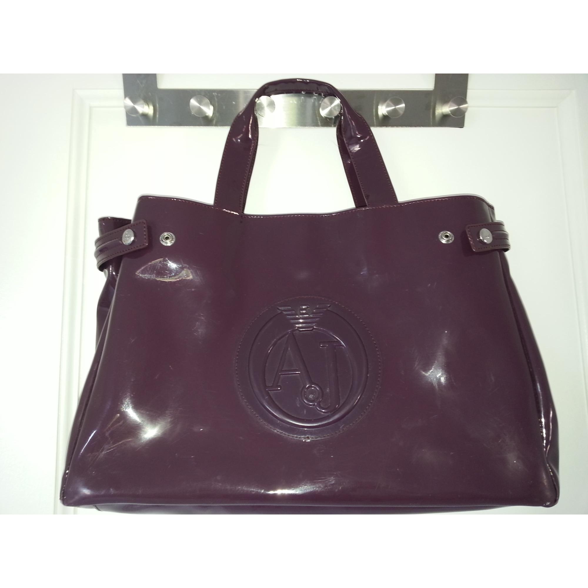 b82989d9a51 Sac à main en tissu ARMANI JEANS violet - 1664985