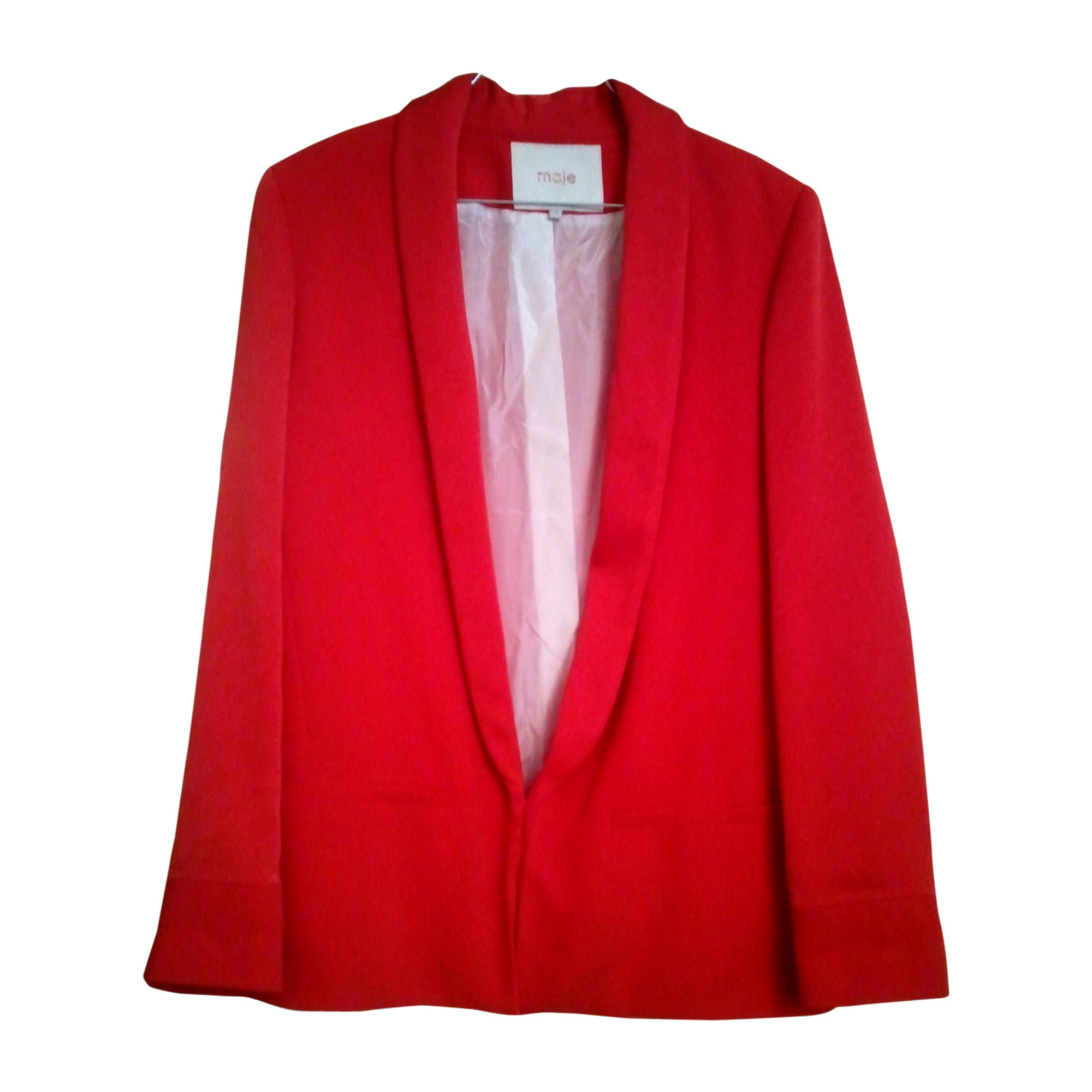 Blazer Rouge 1675884 Tailleur s 36 Veste Maje T1 r7THqwrSY