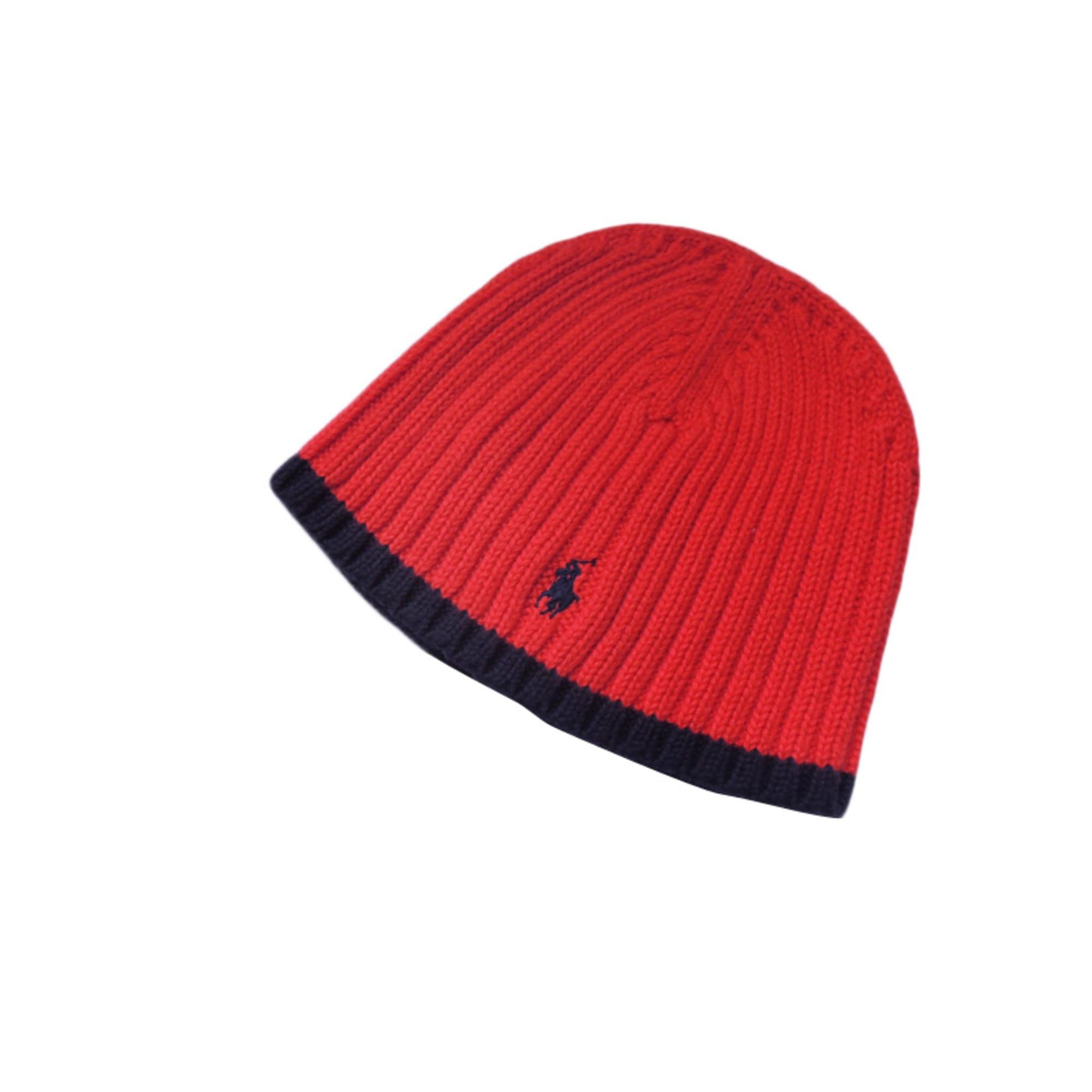 65418473952 Bonnet RALPH LAUREN 18 mois rouge vendu par Maudeuse - 1681800