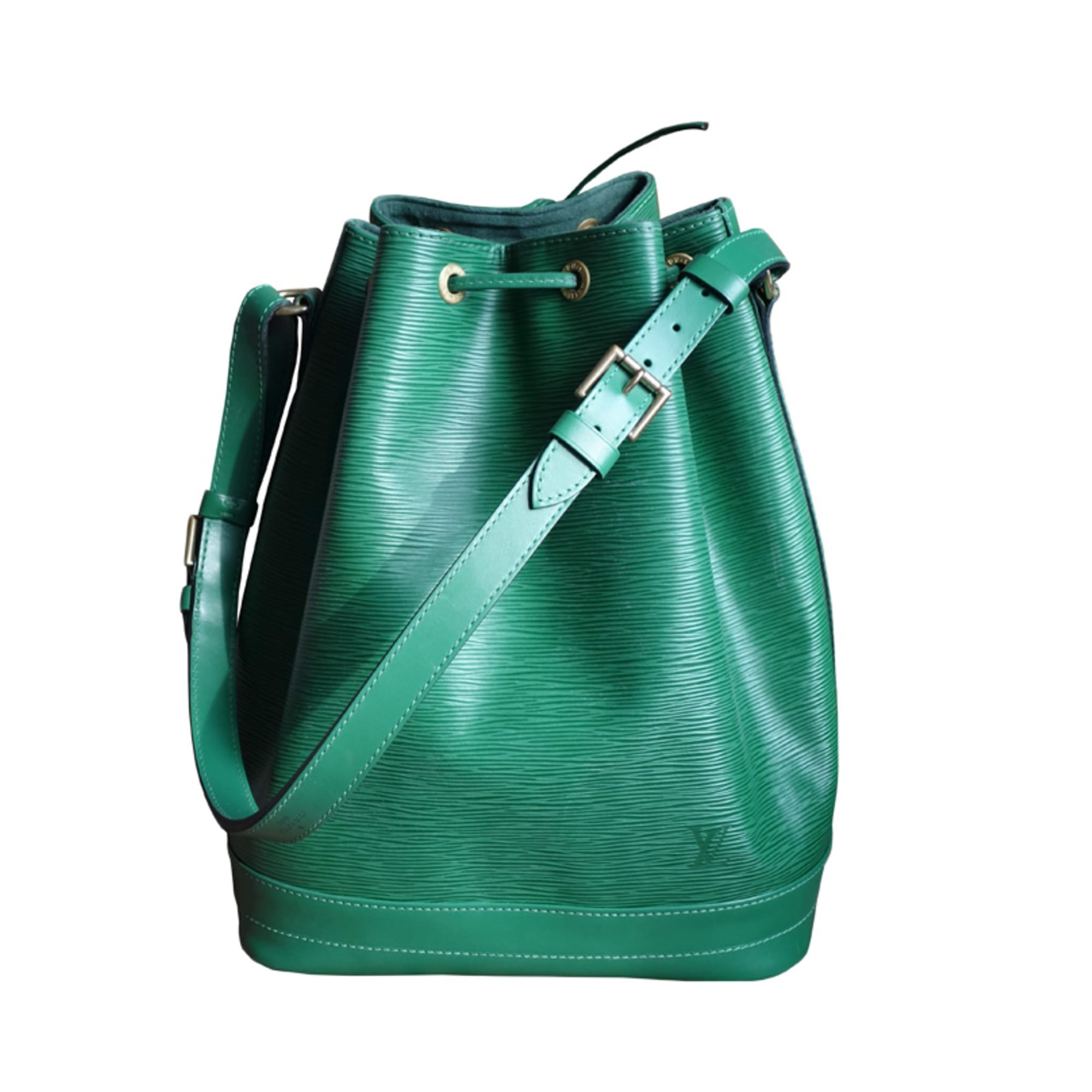 432b1da6d106 Sac en bandoulière en cuir LOUIS VUITTON vert vendu par L accro du ...