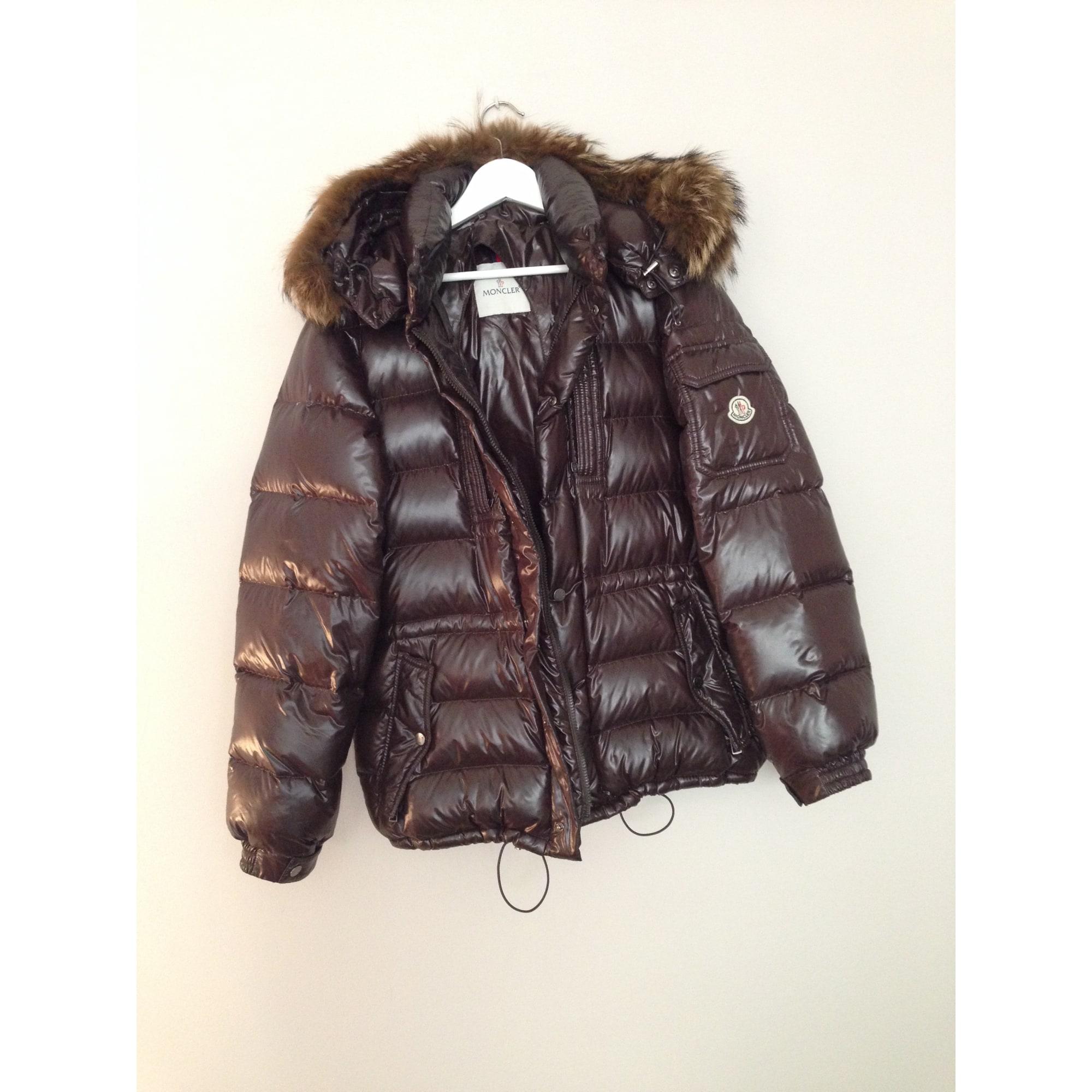 Doudoune MONCLER 48 (M) marron vendu par Shopname508425 - 1723138 34708e14993