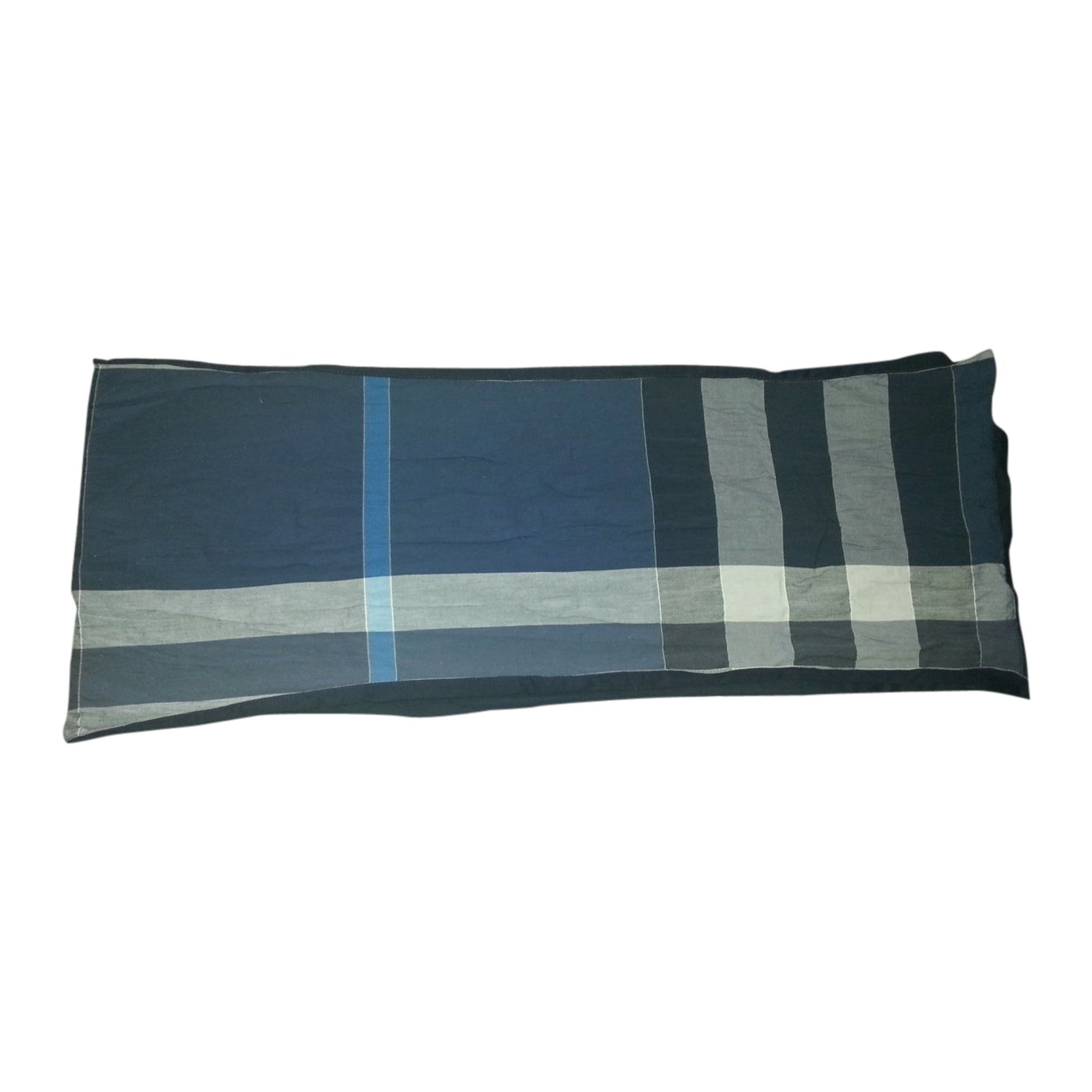 Foulard BURBERRY bleu vendu par D adeline 38285057 - 1729542 f5e4aba9726