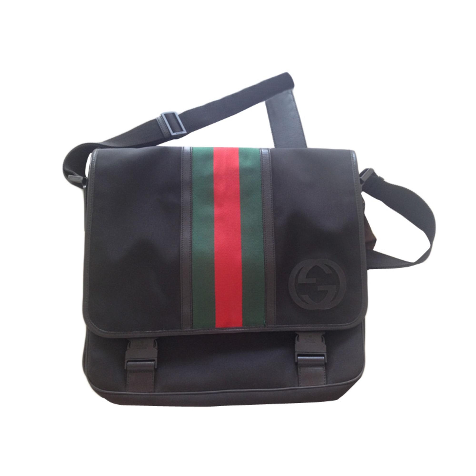 86b9acce27a8 Sacoche GUCCI noir vendu par La family499933 - 1738351
