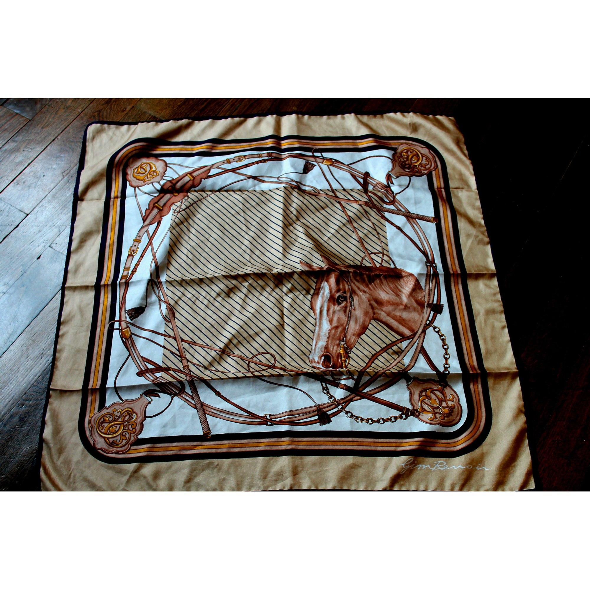 Foulard GYM RENOIR motifs équitation - 1739868 2c77e4ec005