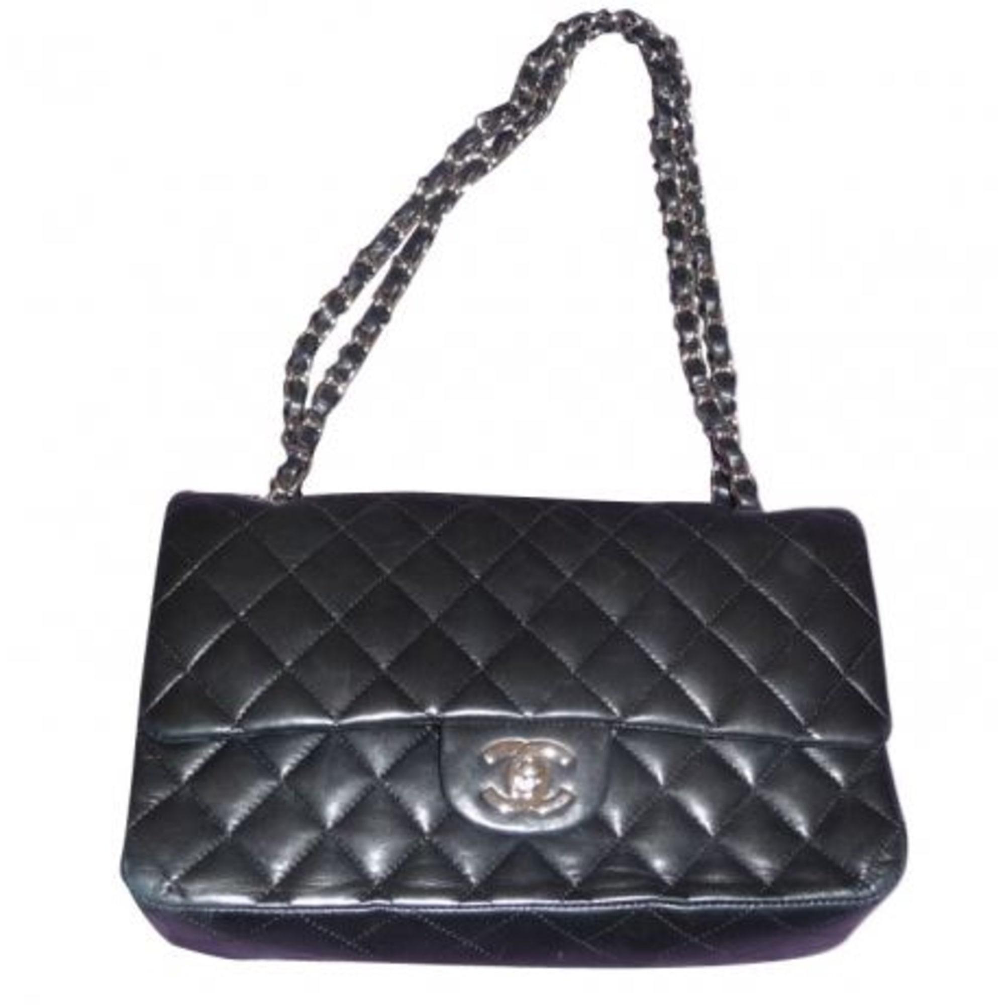 18f6e67b7f5 Sac à main en cuir CHANEL noir vendu par Boutique luxe - 1749279