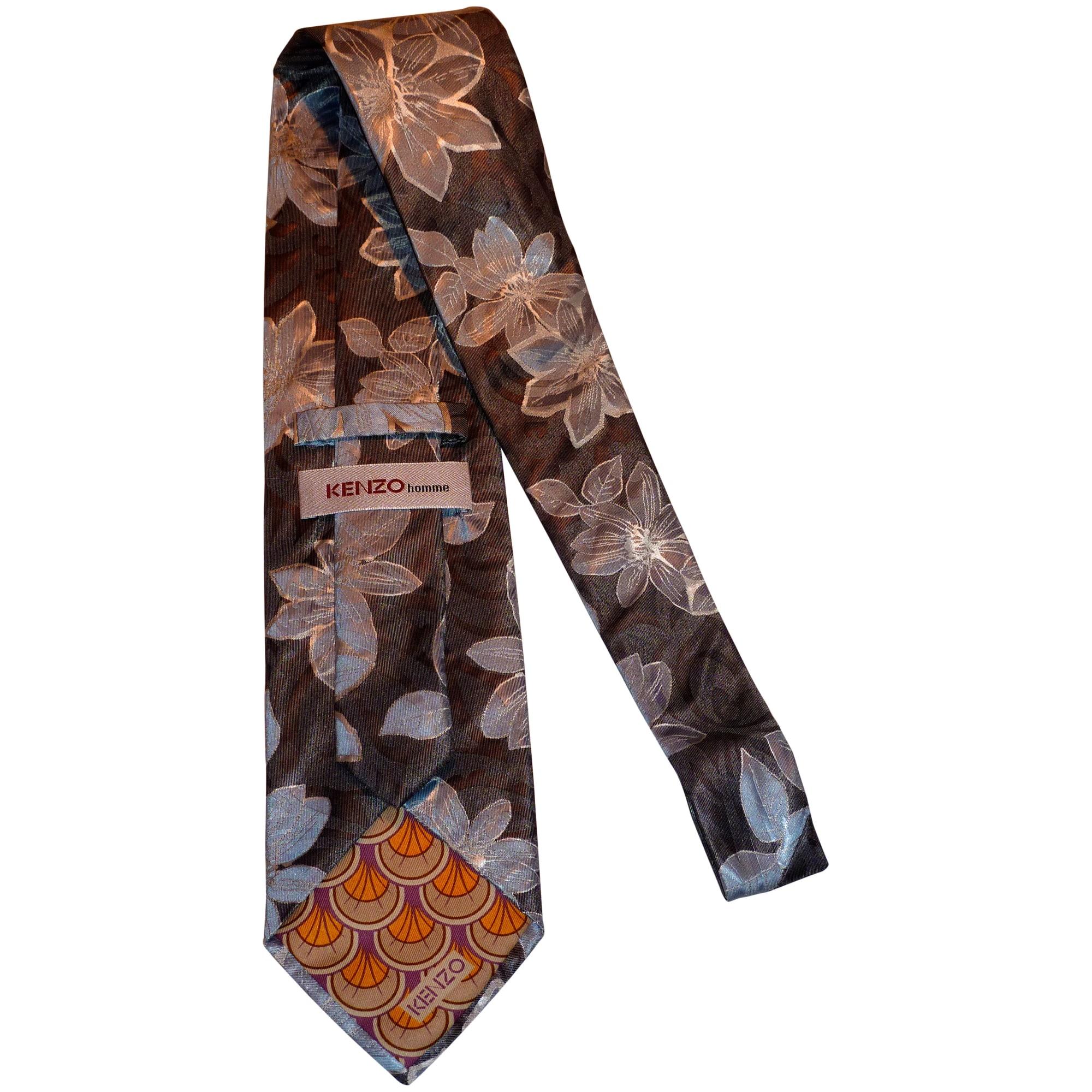 09d2985780df Cravate KENZO gris vendu par  may 495574 - 1764569