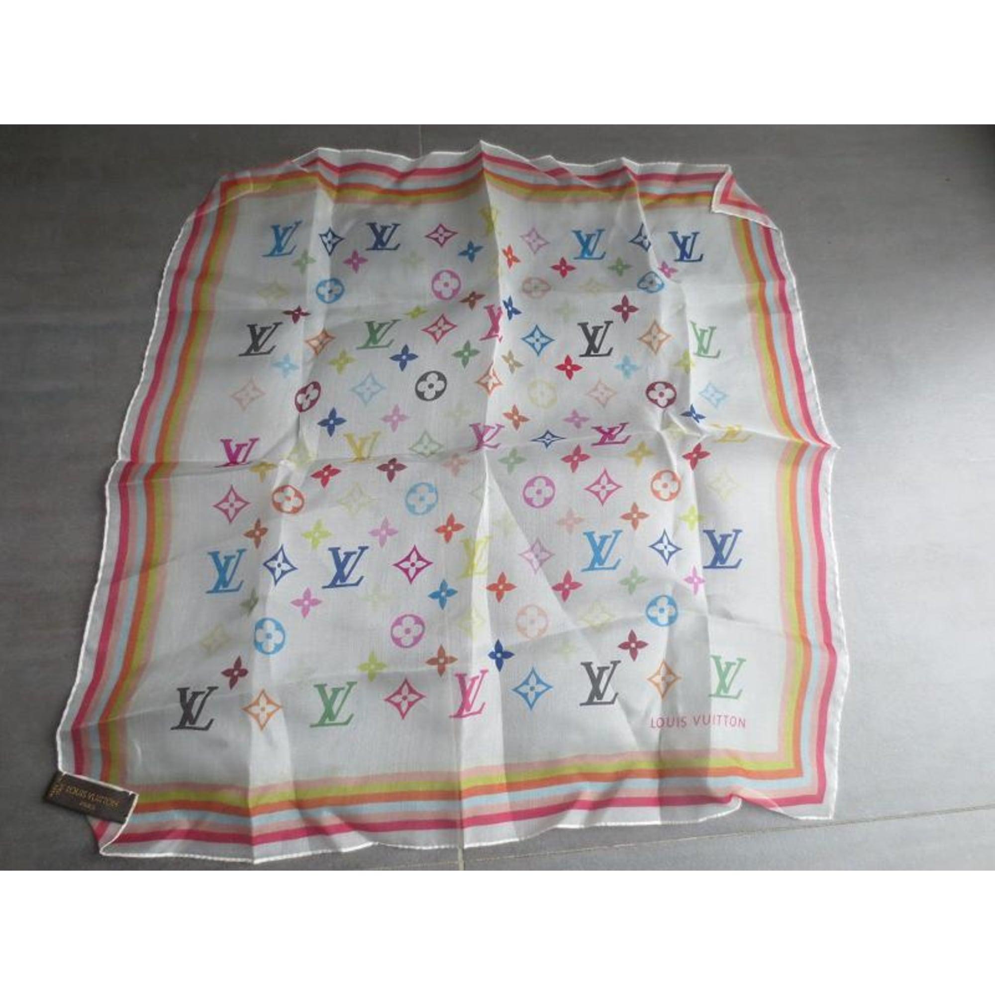 Foulard LOUIS VUITTON multicouleur vendu par My pink bubble435300 839f06630aa