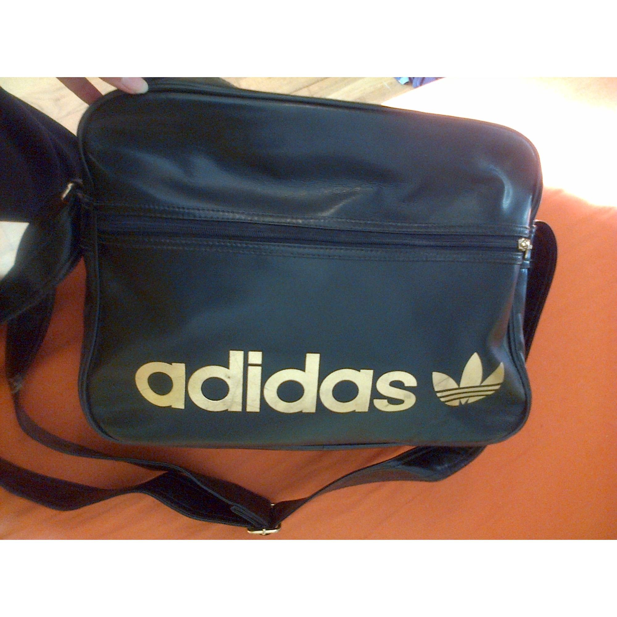Doré Sac 1766035 Noir Bandoulière Cuir Adidas En 4jLq3A5R
