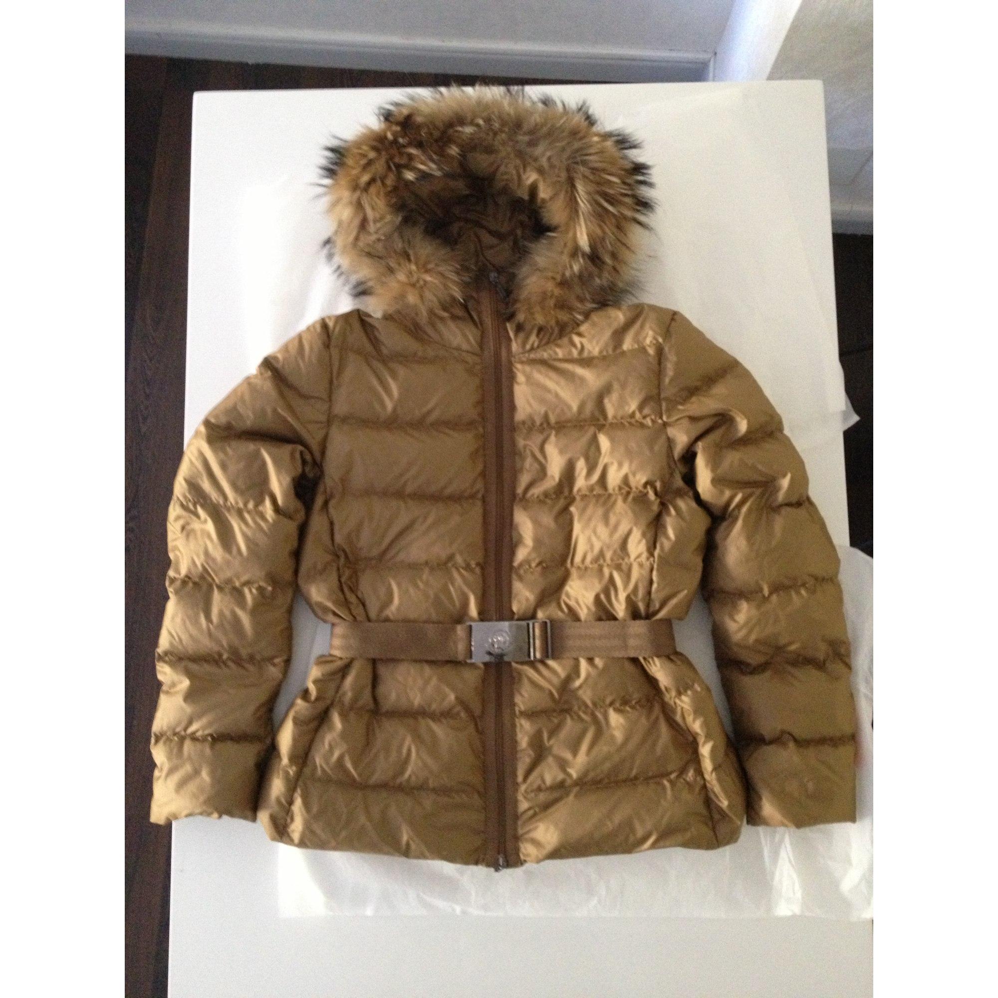 0001152172ff Doudoune MONCLER 44 (XL XXL, T5) doré vendu par Natalee177790 - 1779516