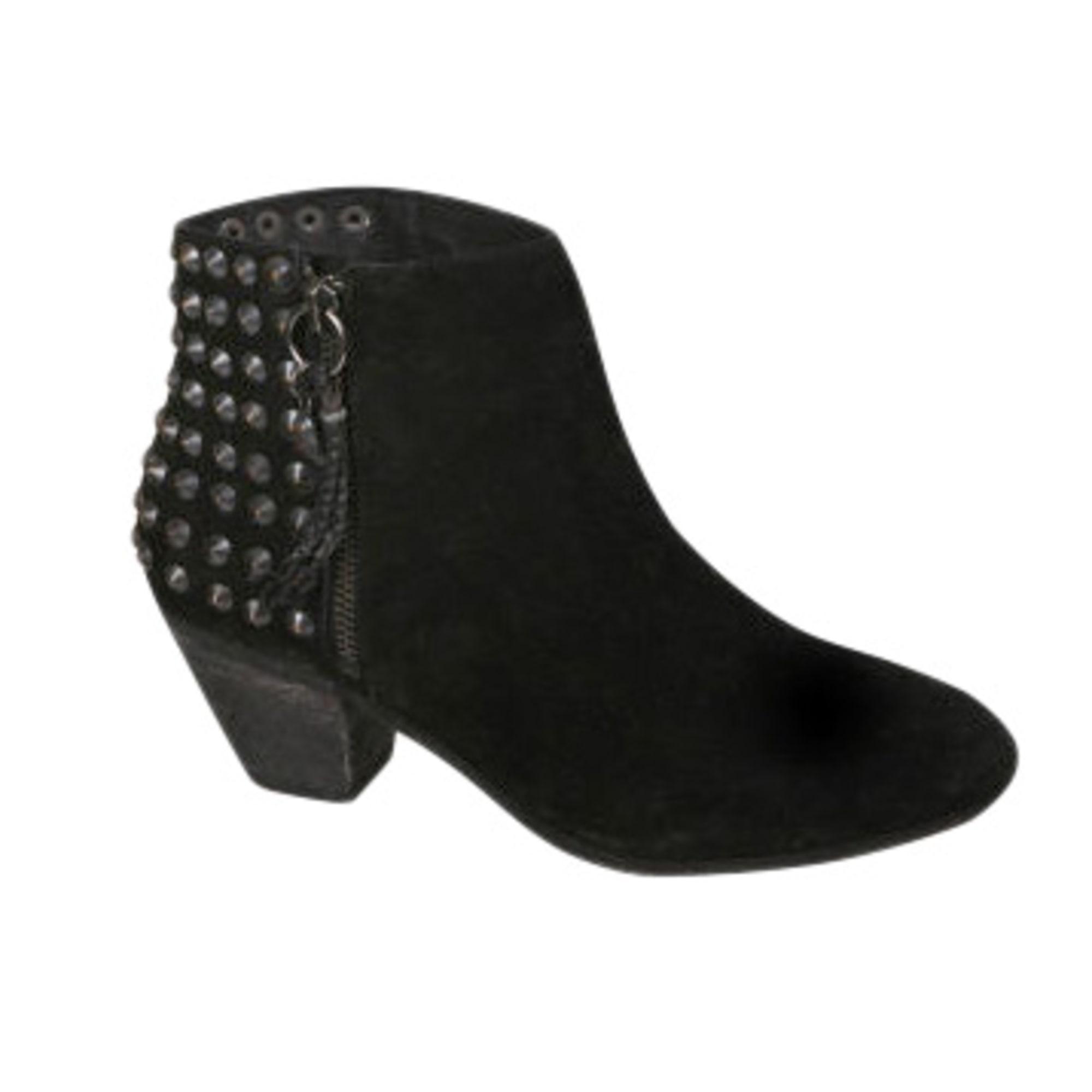 3f8201291ef Bottines   low boots à talons ASH 39 noir vendu par Mademoiselle f ...