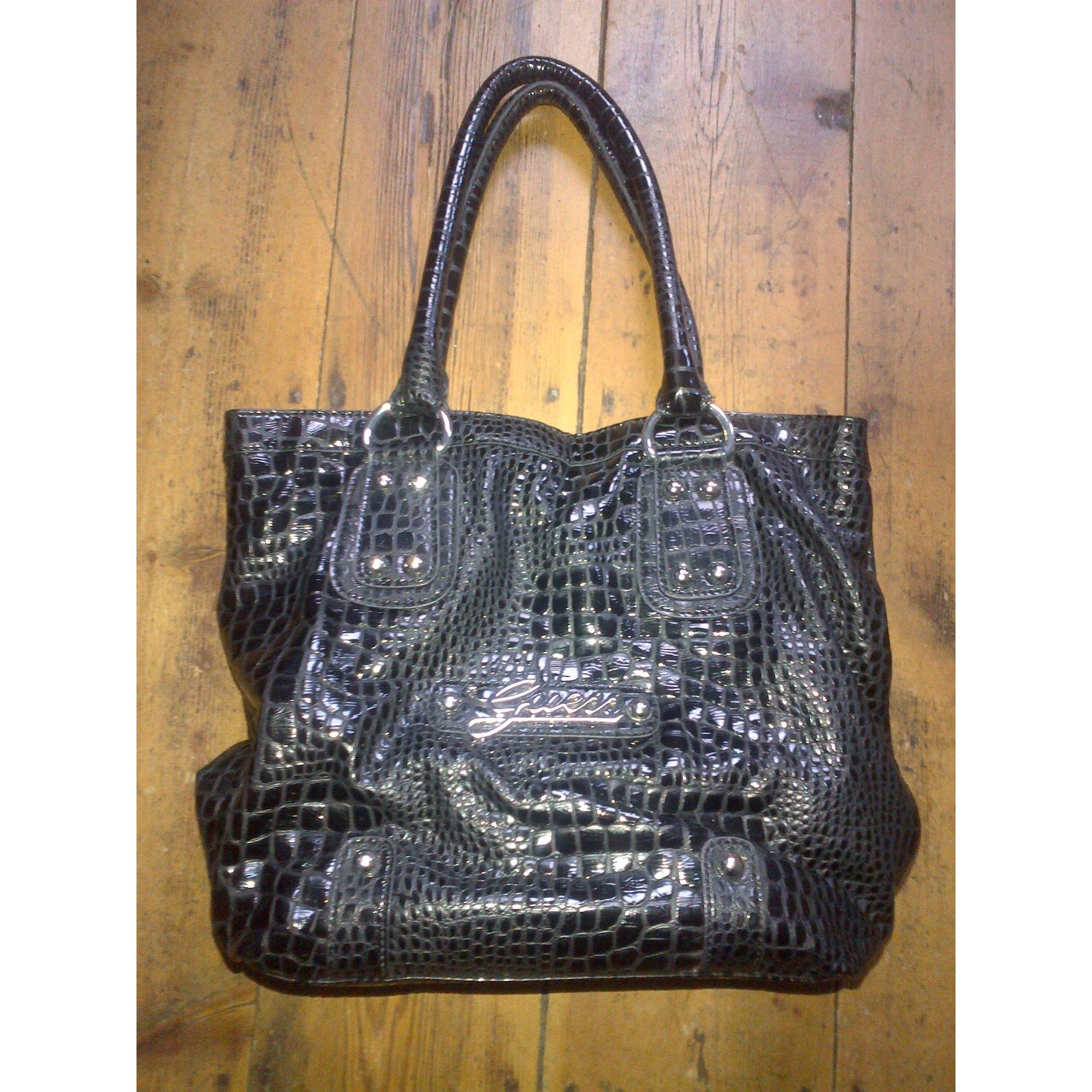 adc6b9f08bed Sac à main en cuir GUESS noir vendu par Lilyma423075 - 1800952