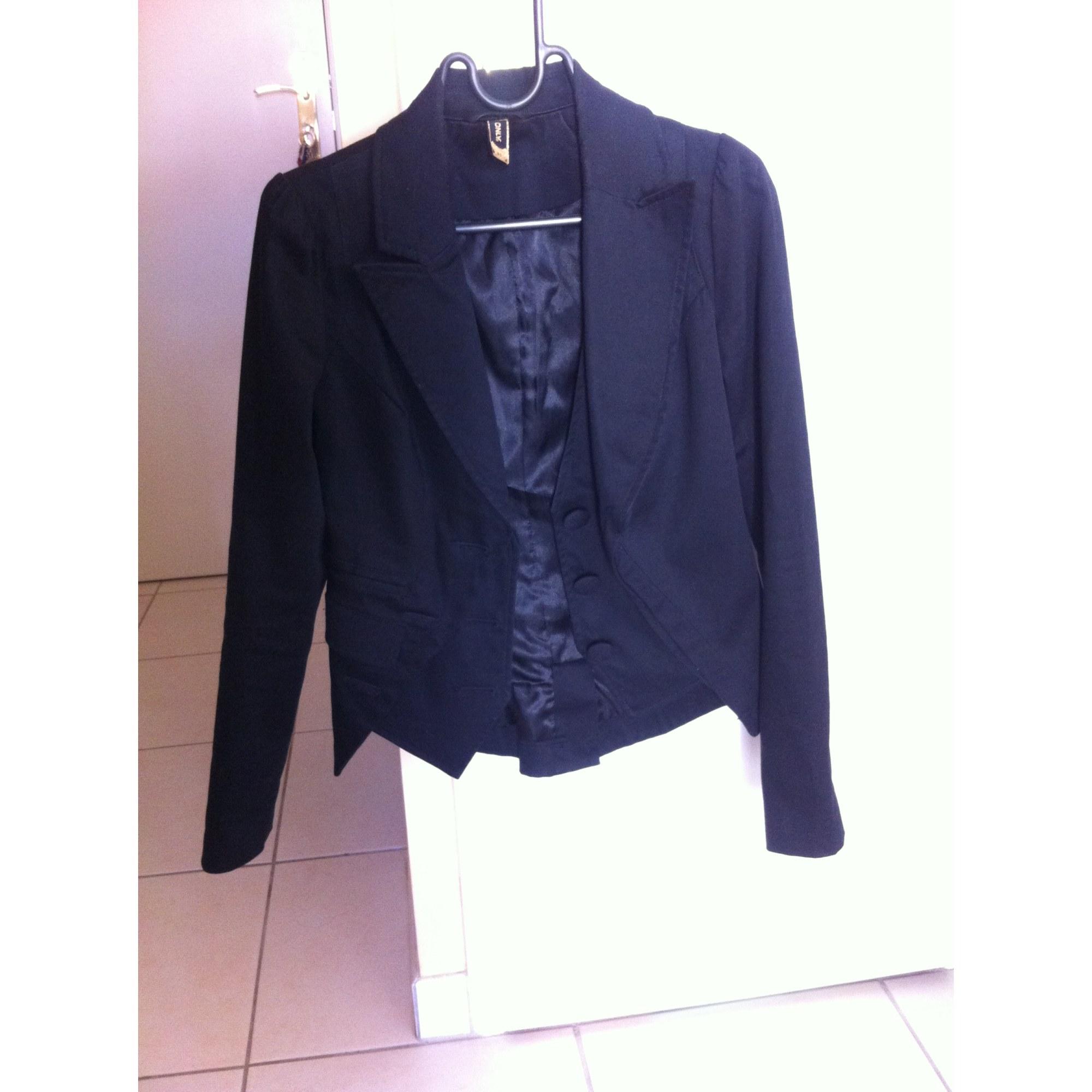 041c89b760abf Blazer, veste tailleur ONLY 34 (XS, T0) noir - 1824035