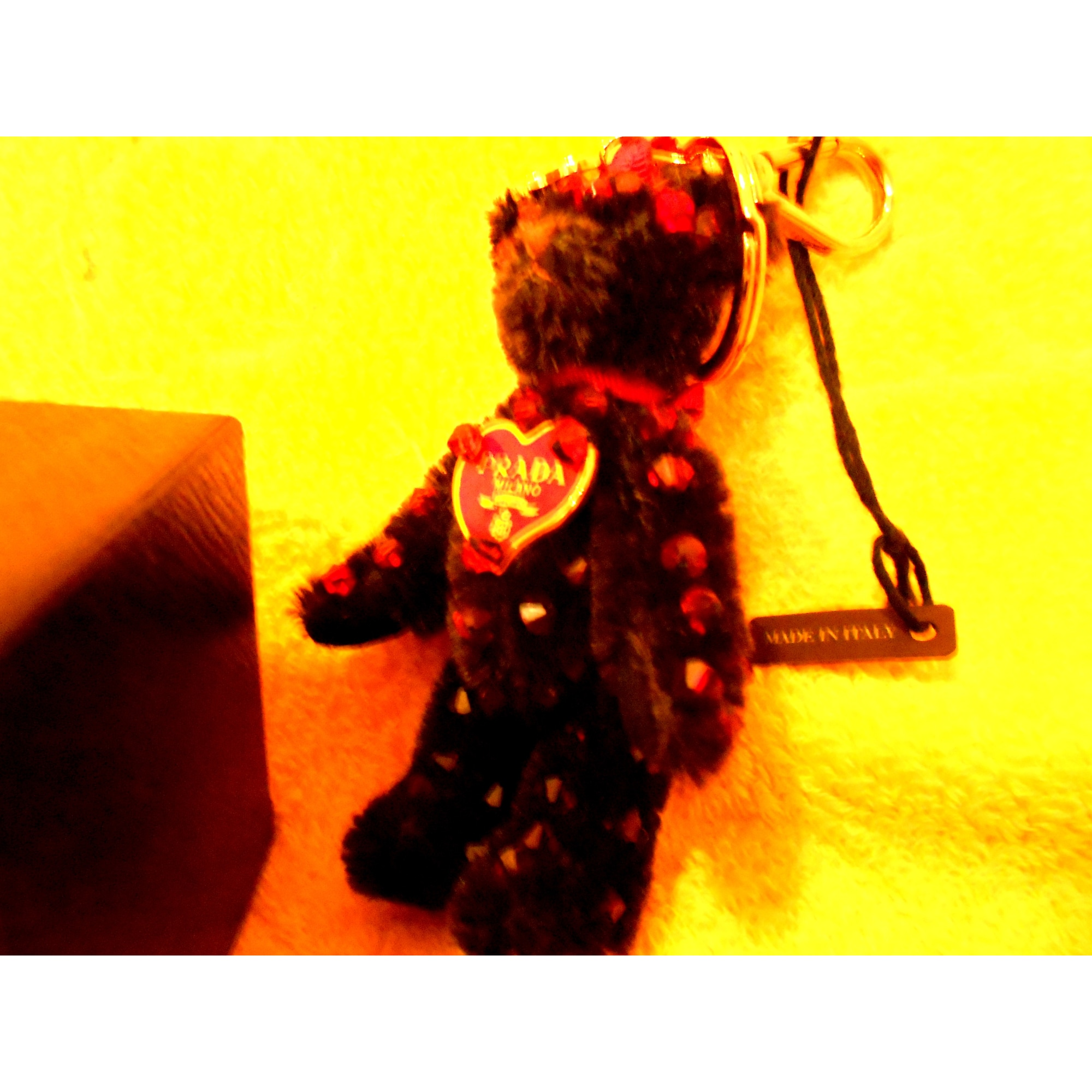 Porte-clés PRADA noir vendu par Maryse 250366 - 1825717 0821fd1a1ea