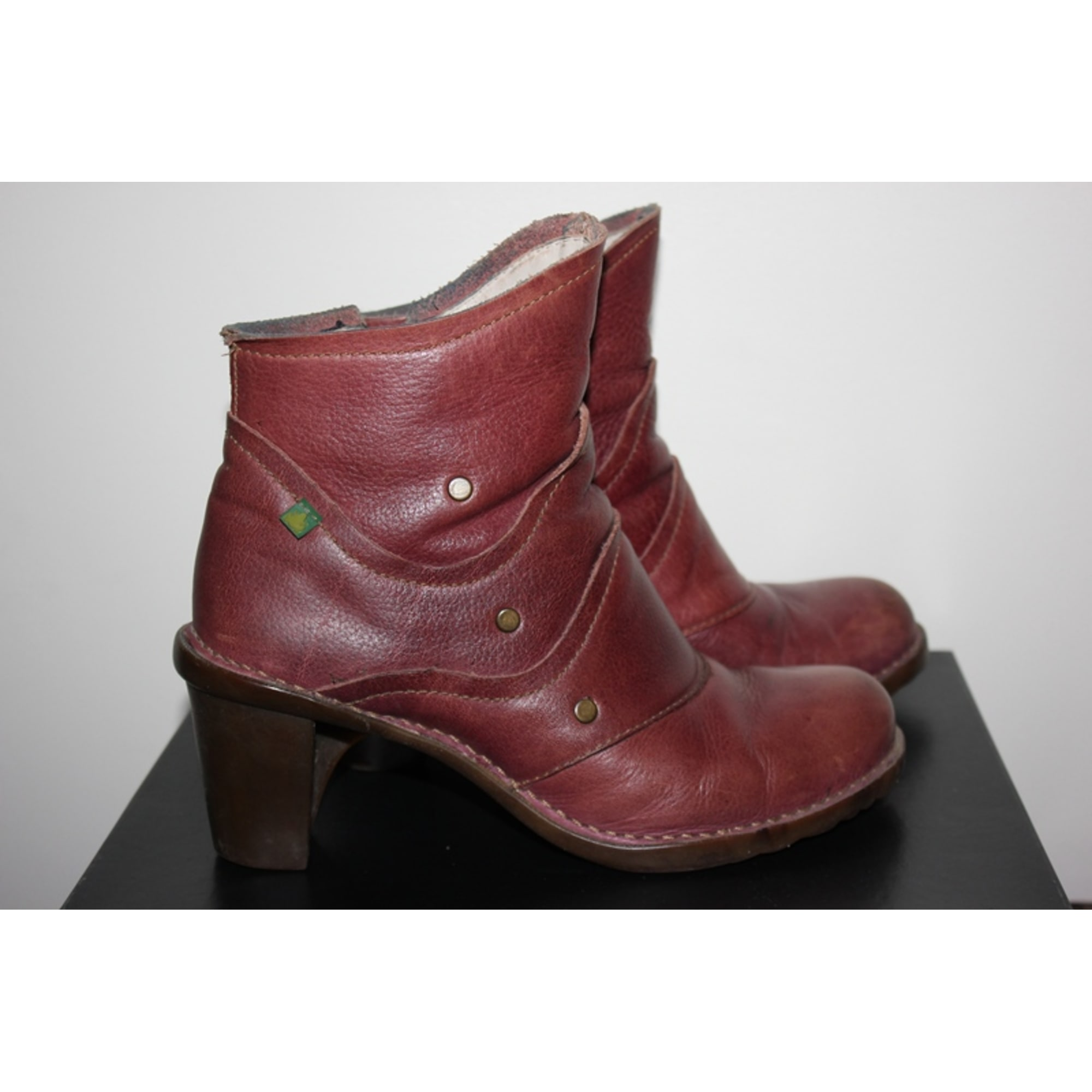 Boots Par Violet 39 El amp; Vendu Talons À Naturalista Low Bottines ZwpEqnB