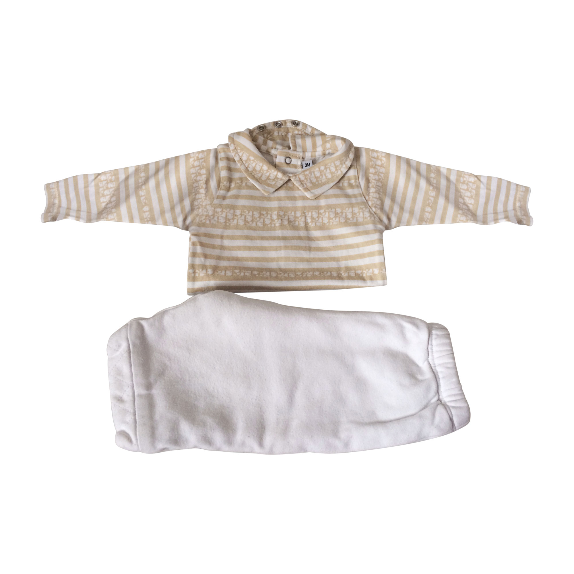 Pants Set, Outfit BABY DIOR Golden, bronze, copper