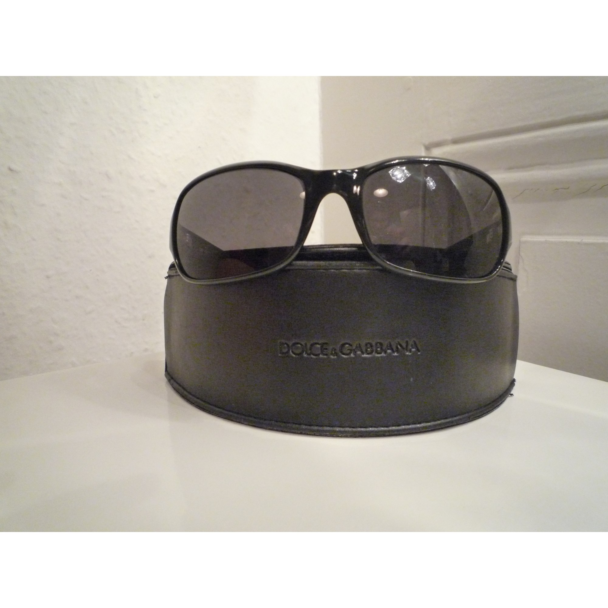 10a7f54c9ff133 Lunettes de soleil DOLCE   GABBANA noir vendu par Laeti 947200 - 185235