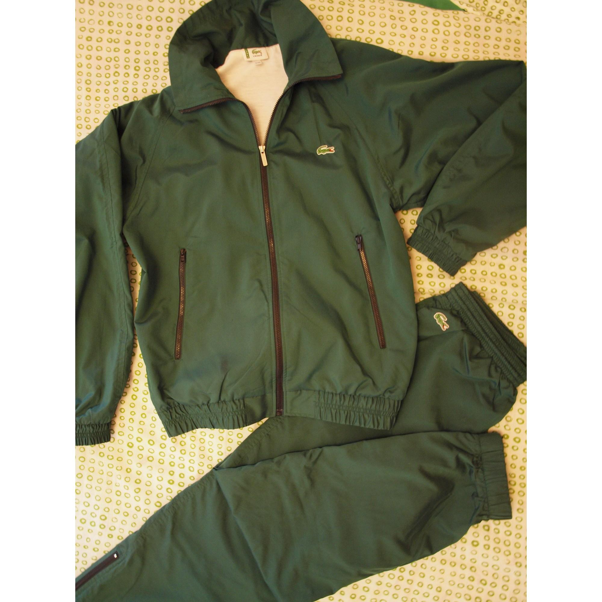 78a7b8a5b4 Ensemble jogging LACOSTE Autre vert foncé vendu par Shopname47488 ...