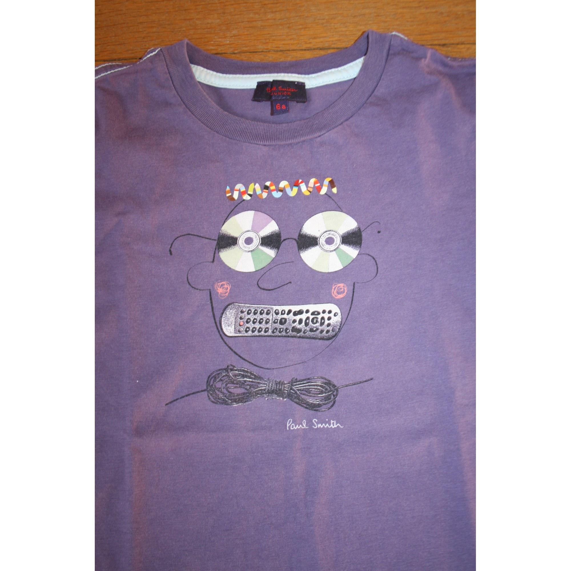 Tee-shirt PAUL SMITH JUNIOR Violet, mauve, lavande
