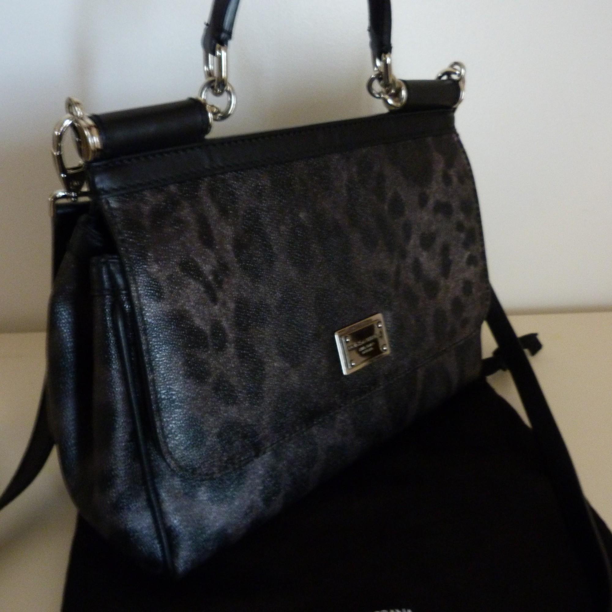 Sac en bandoulière en cuir DOLCE   GABBANA gris vendu par Louisa ... 9caf68183167