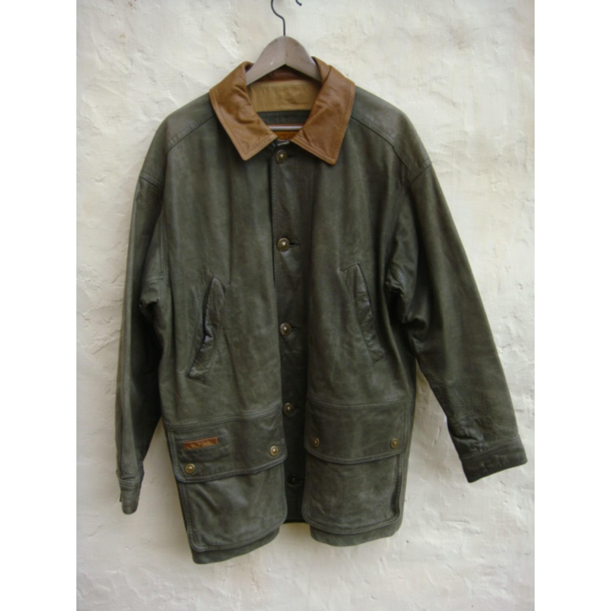 Timberland Veste Cuir Vert 1950526 40 En vOqxOwC1