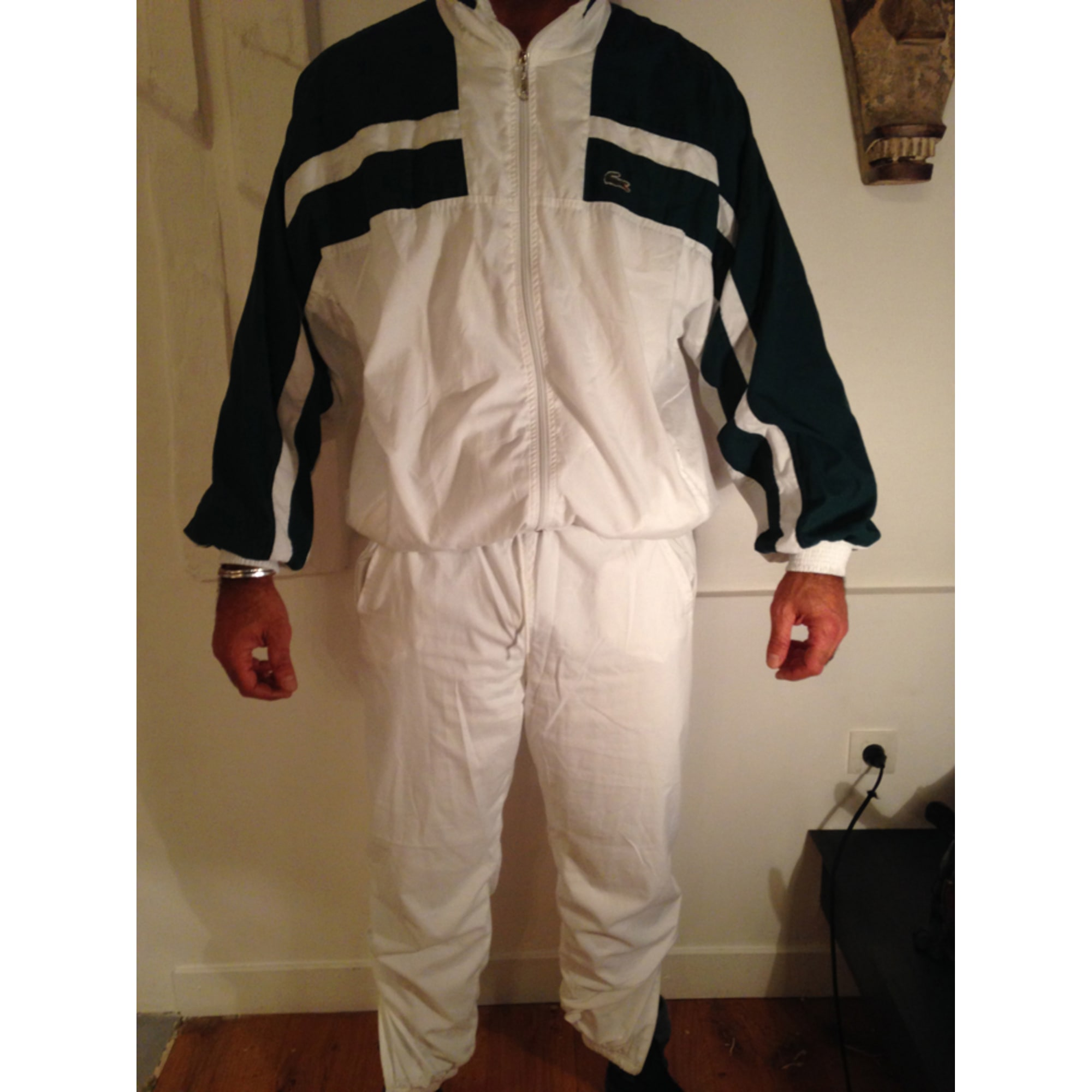 Pantalon de survêtement LACOSTE 62 (XXL) blanc - 1957528 d4f4a99b133