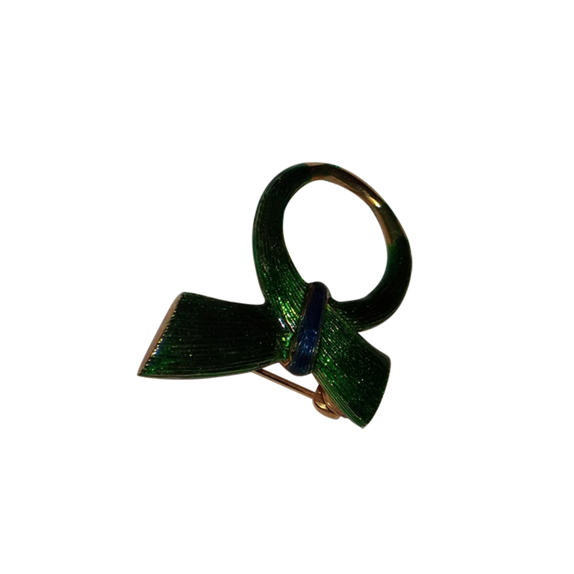 Broche CARVEN Doré, bronze, cuivre
