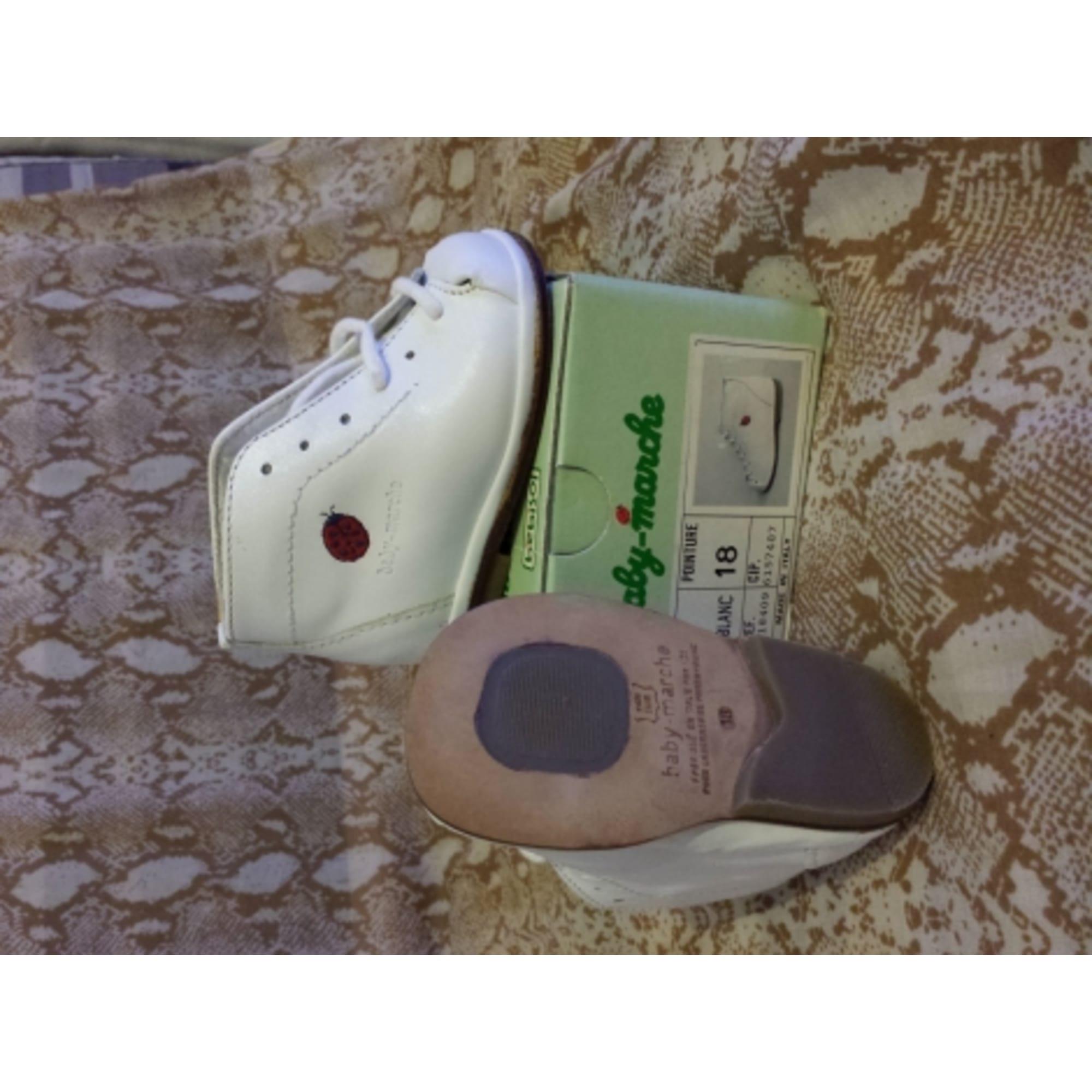 434293e91c6a6 Chaussures à lacets BÉBISOL Autre blanc - 1964376