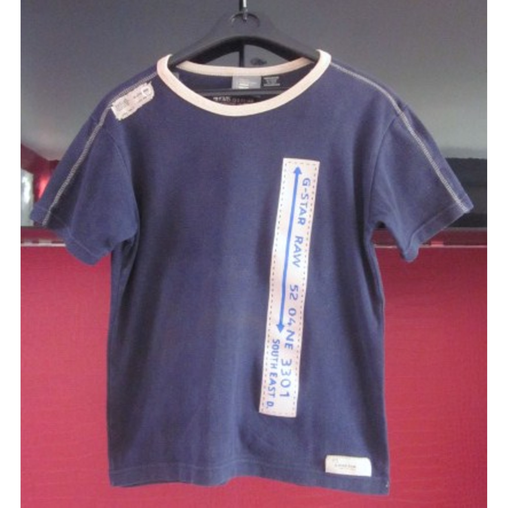 Tee-shirt G-STAR Bleu, bleu marine, bleu turquoise ea162870e30